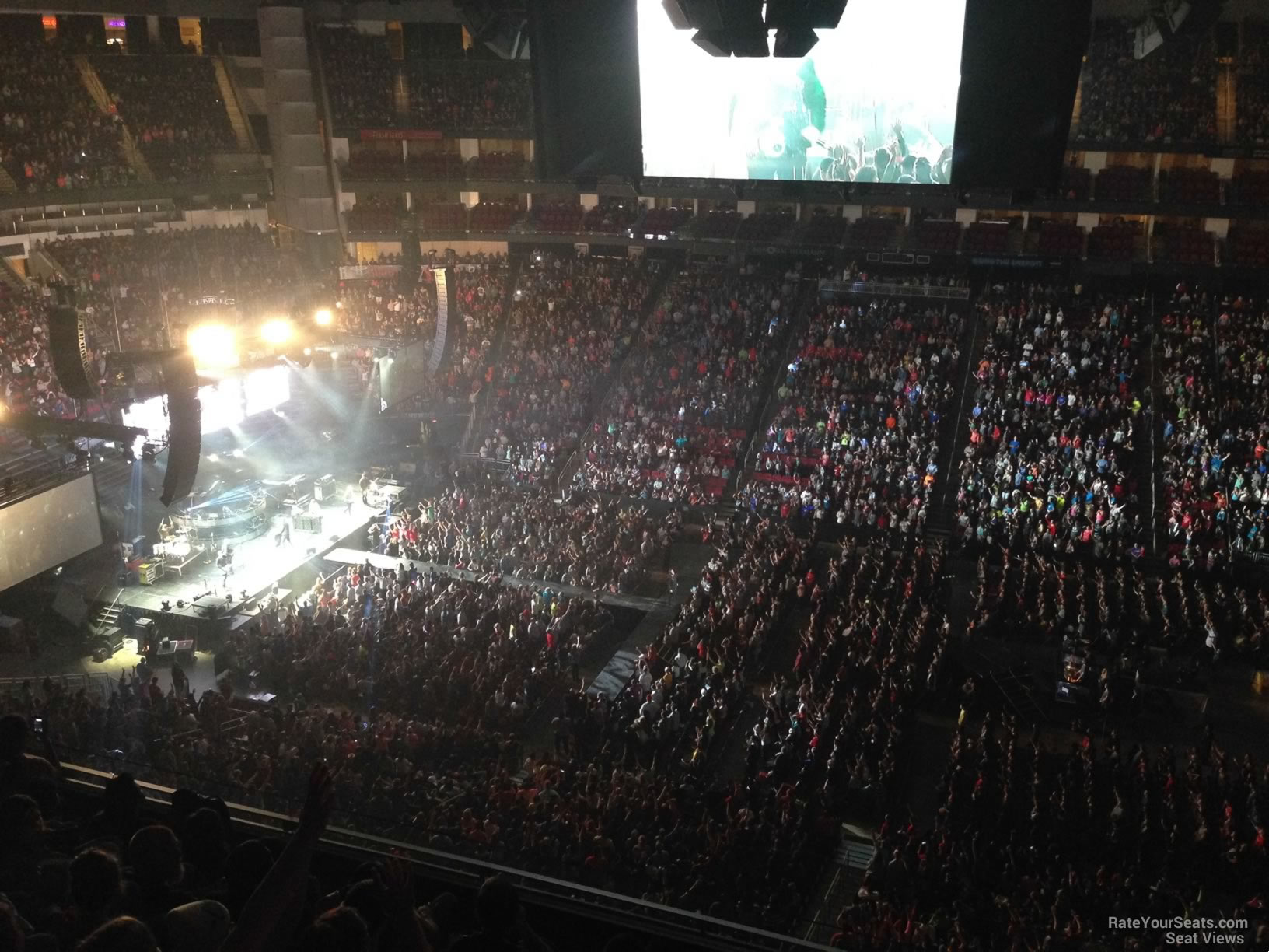 Toyota Center Section 425 Concert Seating Rateyourseats Com