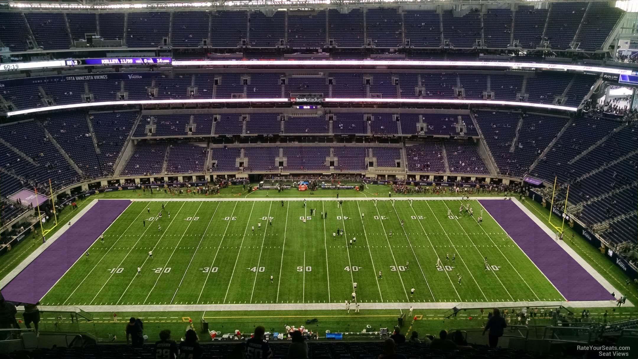 us bank stadium baseball layout