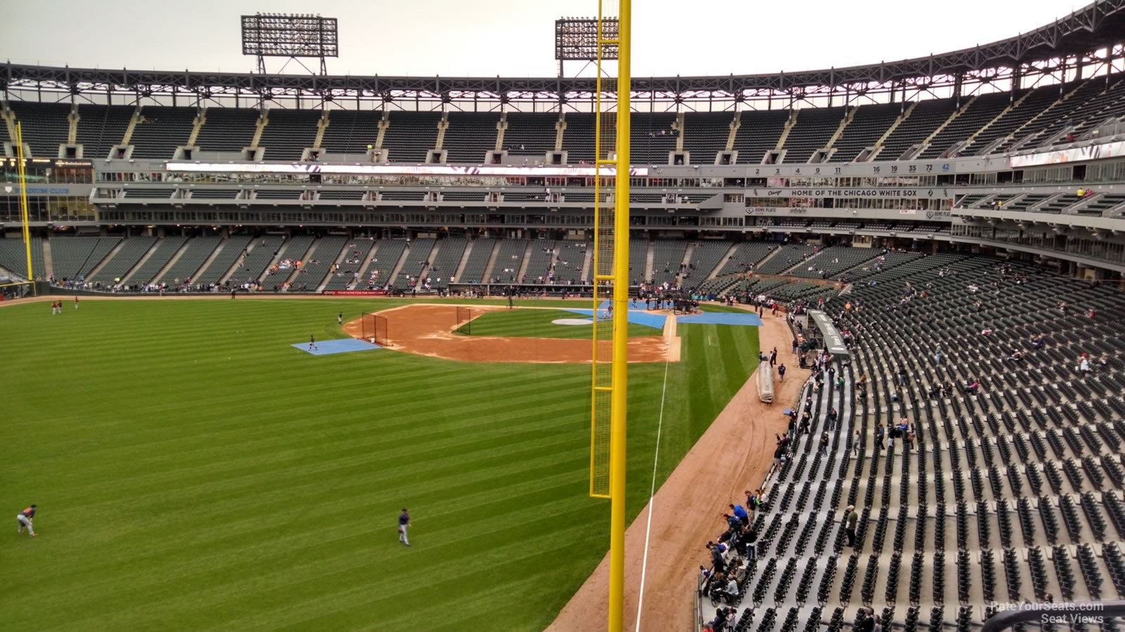 Guaranteed Rate Field Section 357 - RateYourSeats.com