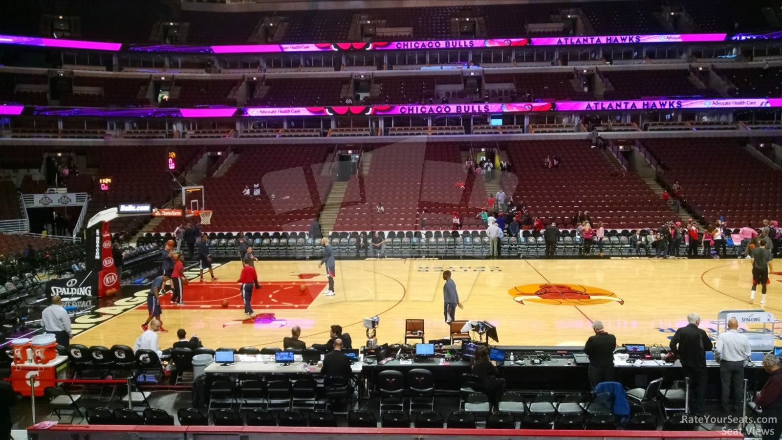 United Center Section 101 Chicago Bulls Rateyourseats Com