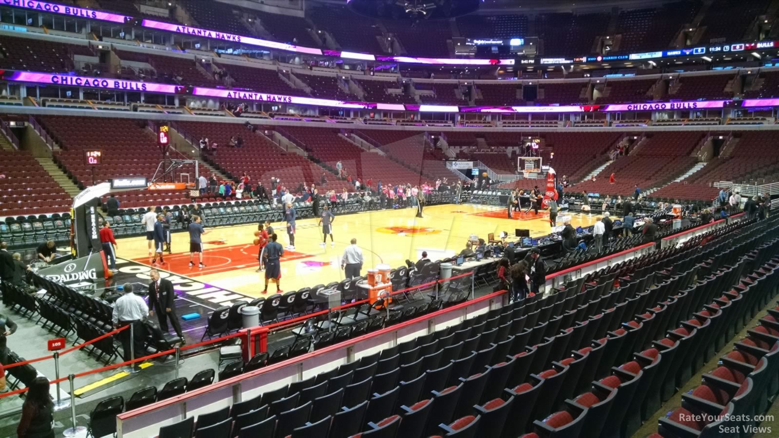 Exterior: United Center Section 103