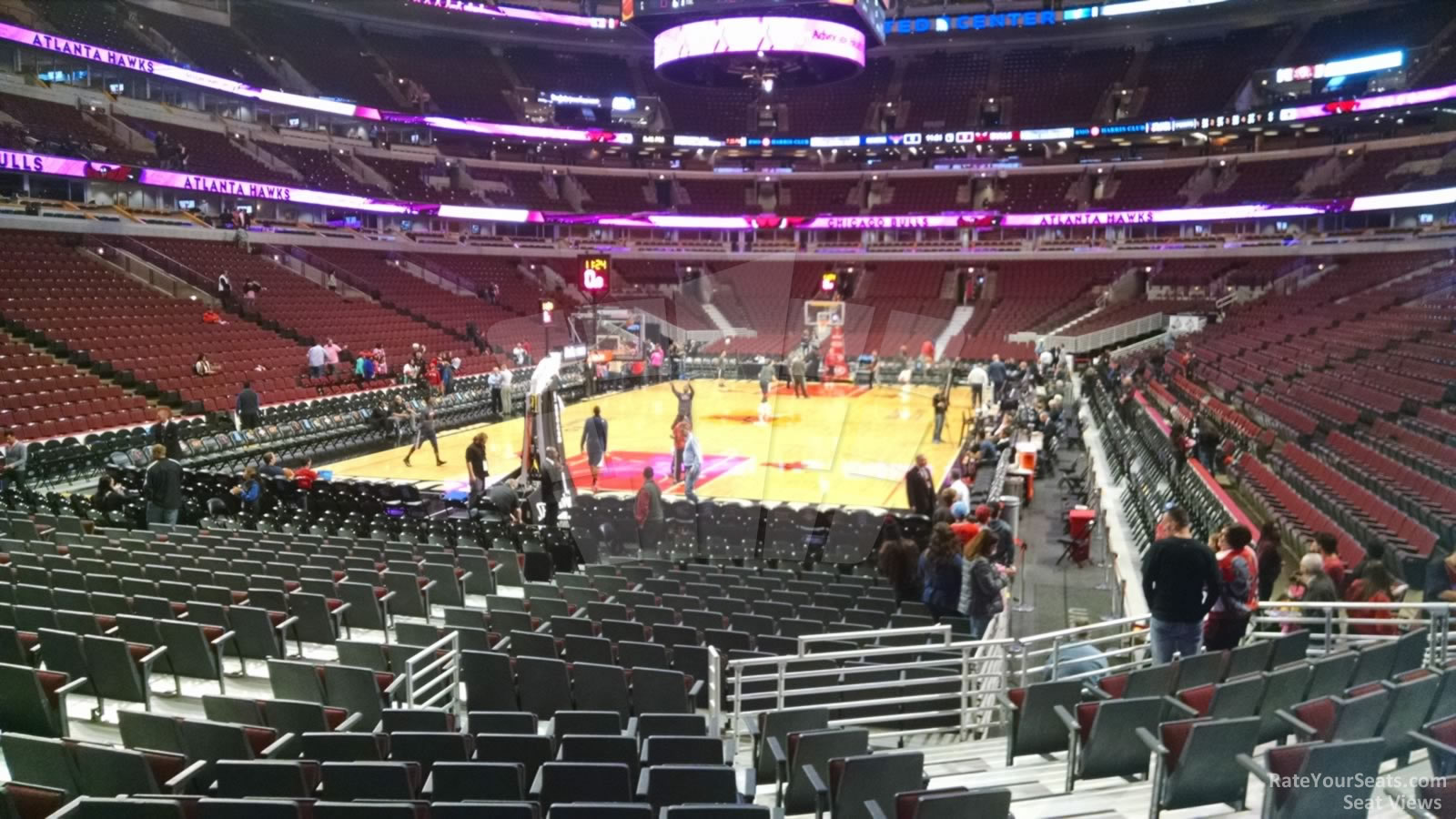 Exterior: United Center Section 105