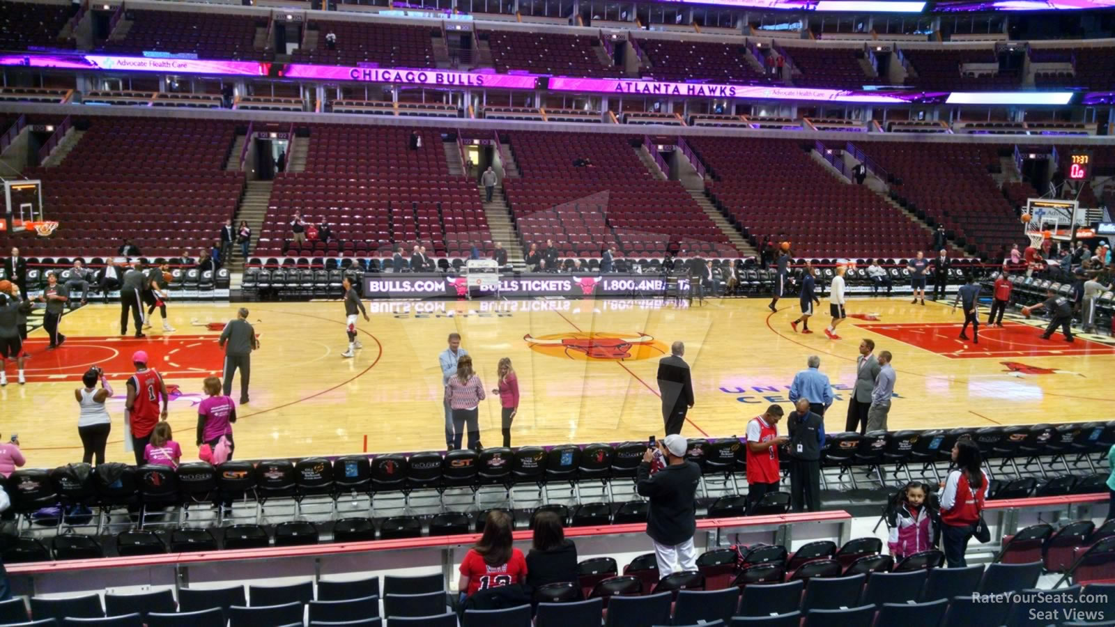 Exterior: United Center Section 112