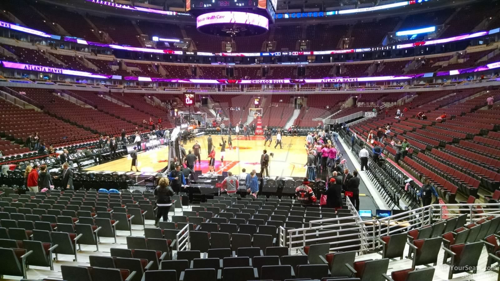 United Center Section 116 - Chicago Bulls - RateYourSeats.com