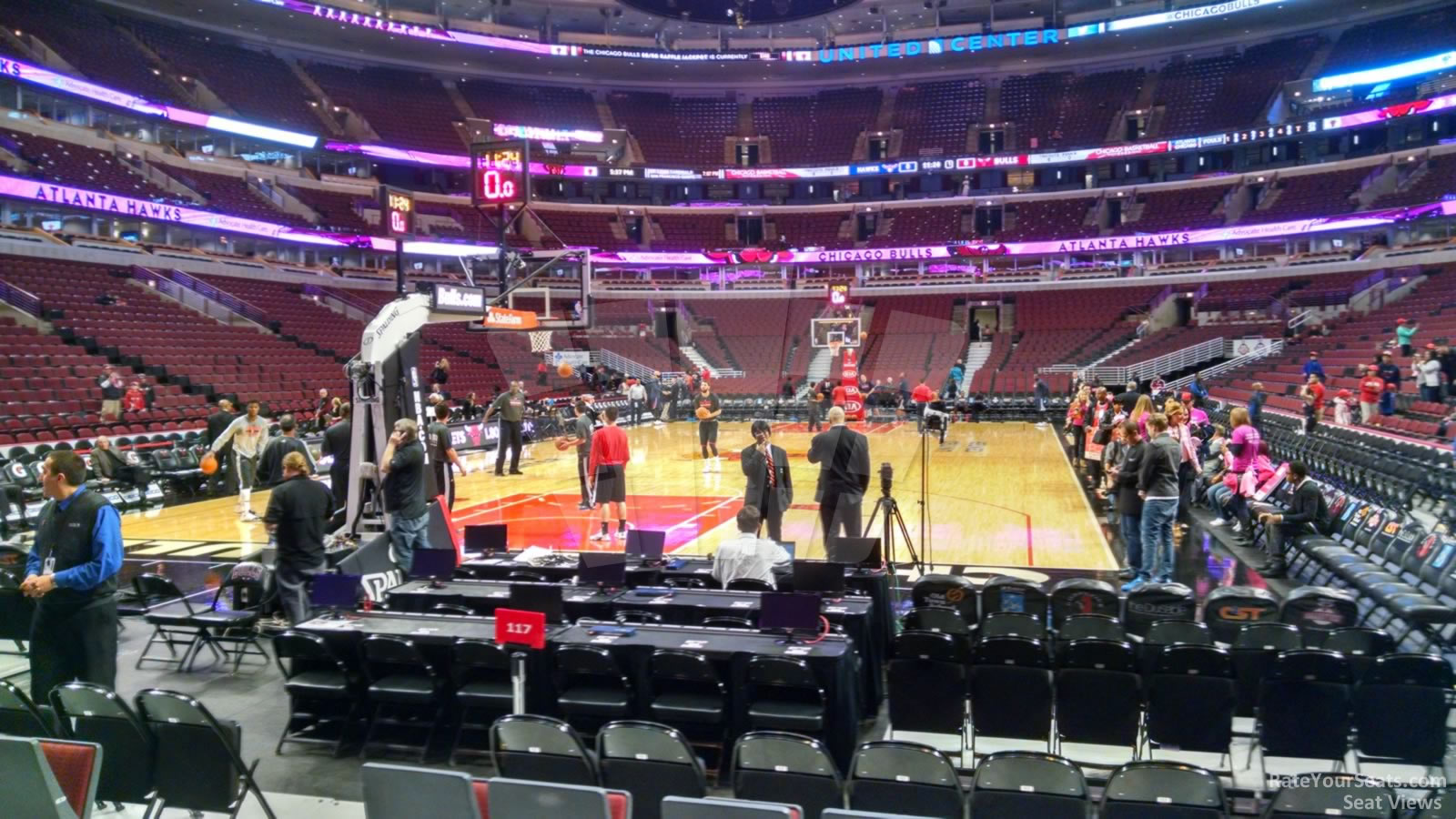 Chicago Bulls - United Center Section 116 - RateYourSeats.com