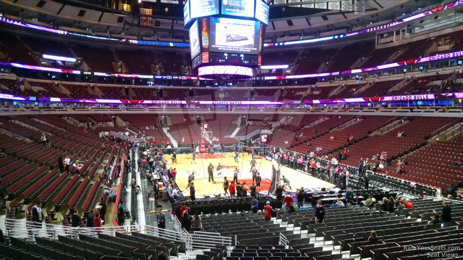 United Center Section 118 - Chicago Bulls - RateYourSeats.com