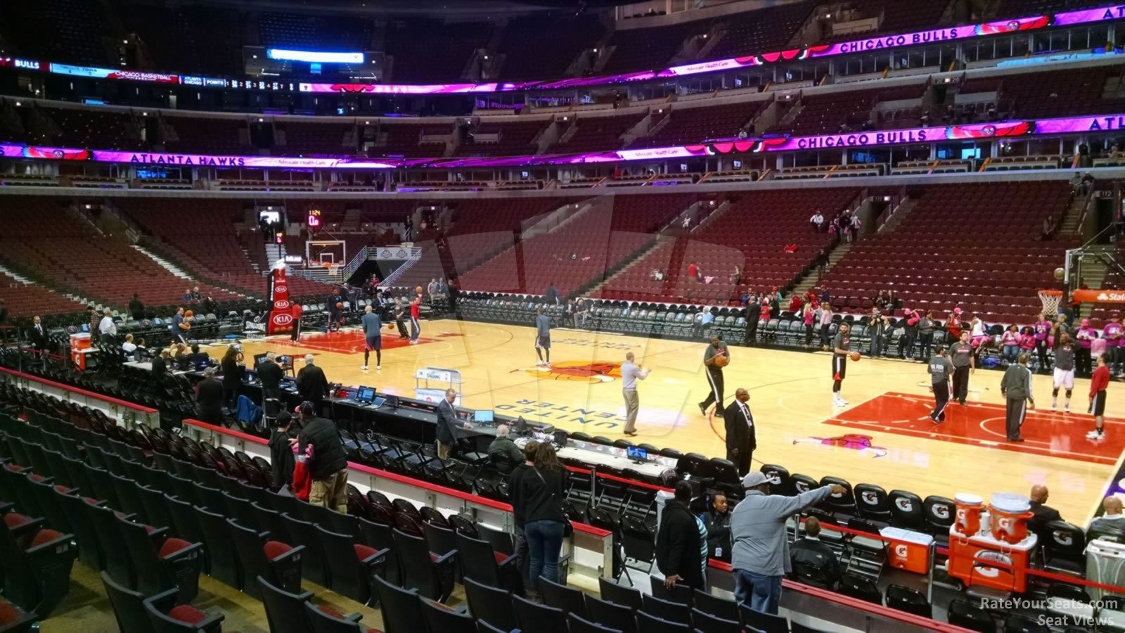 United Center Section 121 Chicago Bulls Rateyourseats Com