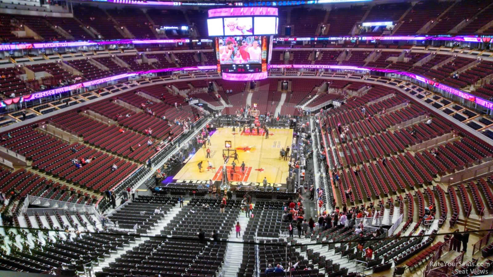 Exterior: United Center Section 308