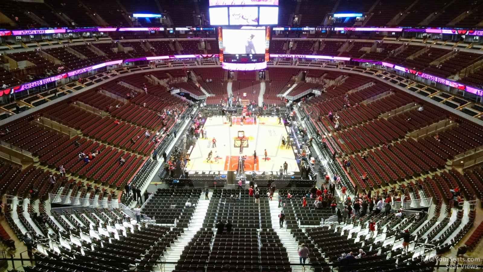 United Center Section 309 Chicago Bulls Rateyourseats Com
