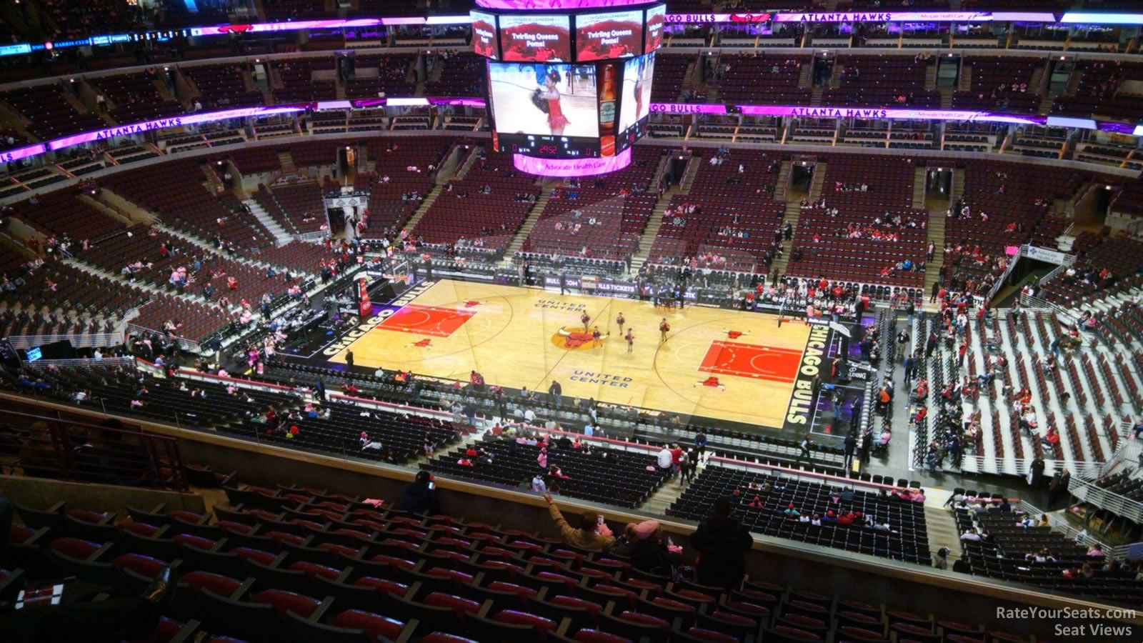 Exterior: United Center Section 316