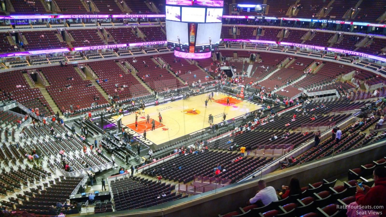 United Center Section 321 - Chicago Bulls - RateYourSeats.com