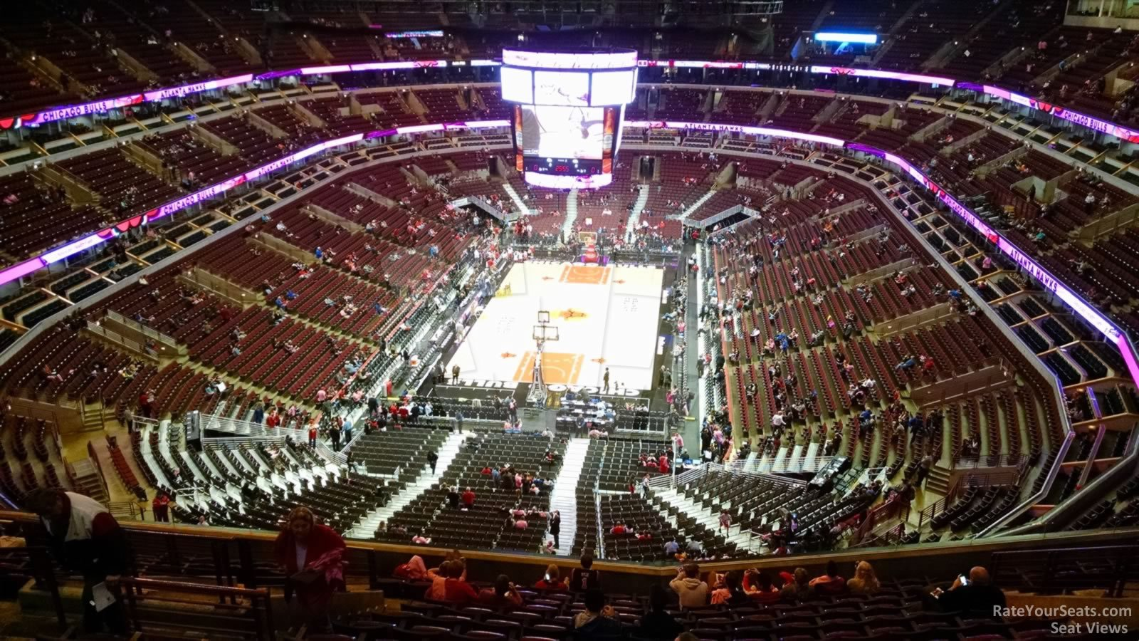 Exterior: United Center Section 325