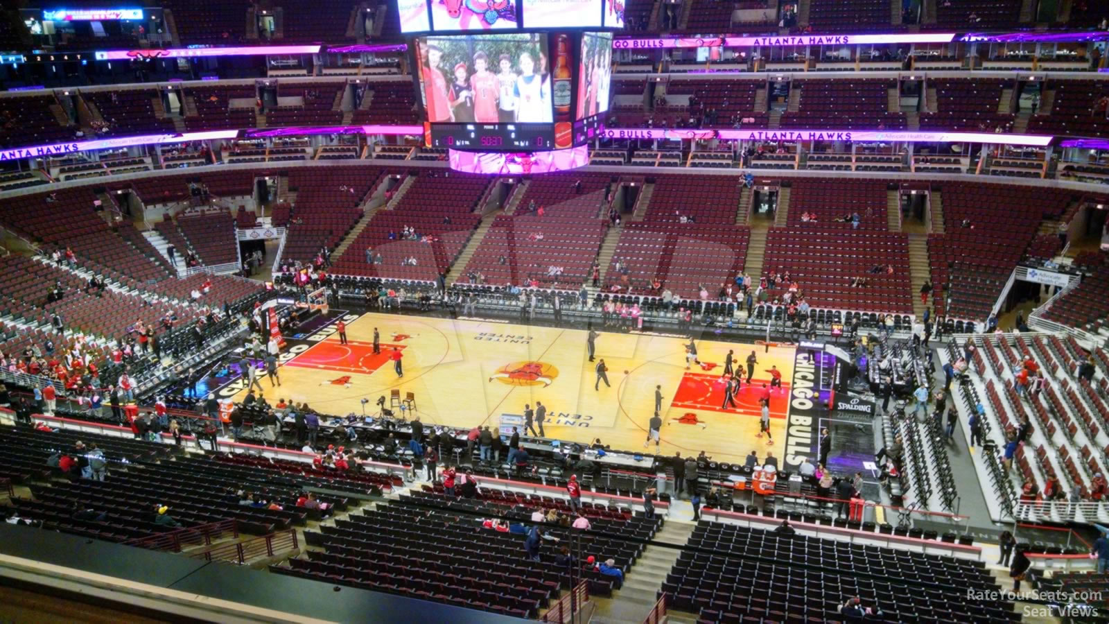 United Center Section 333 Chicago Bulls Rateyourseats Com