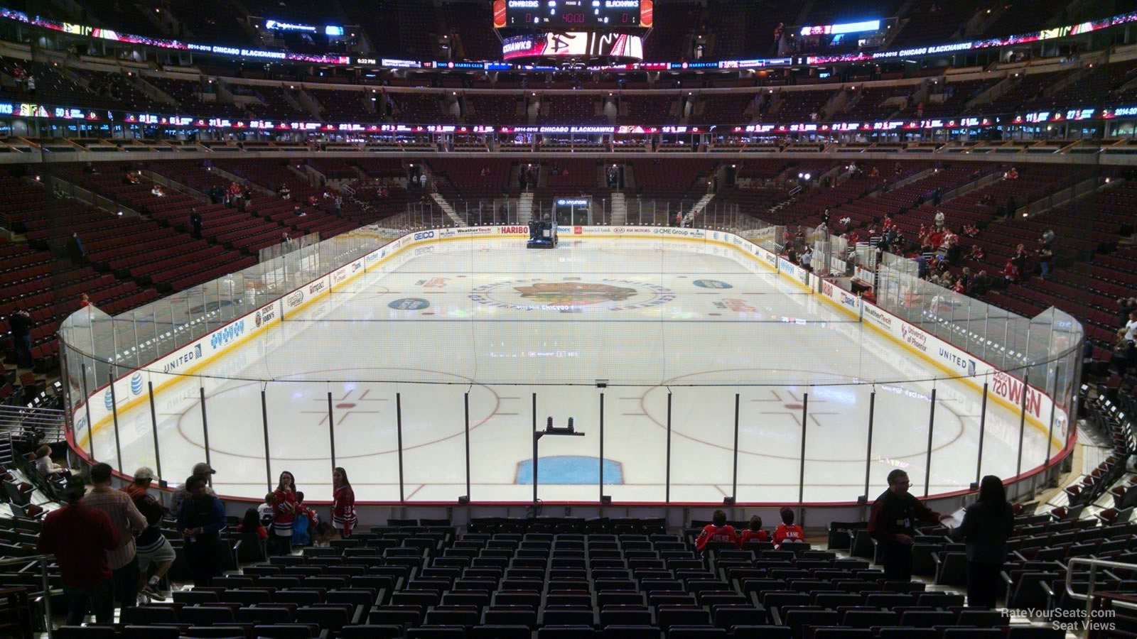 United Center Section 106 Chicago Blackhawks