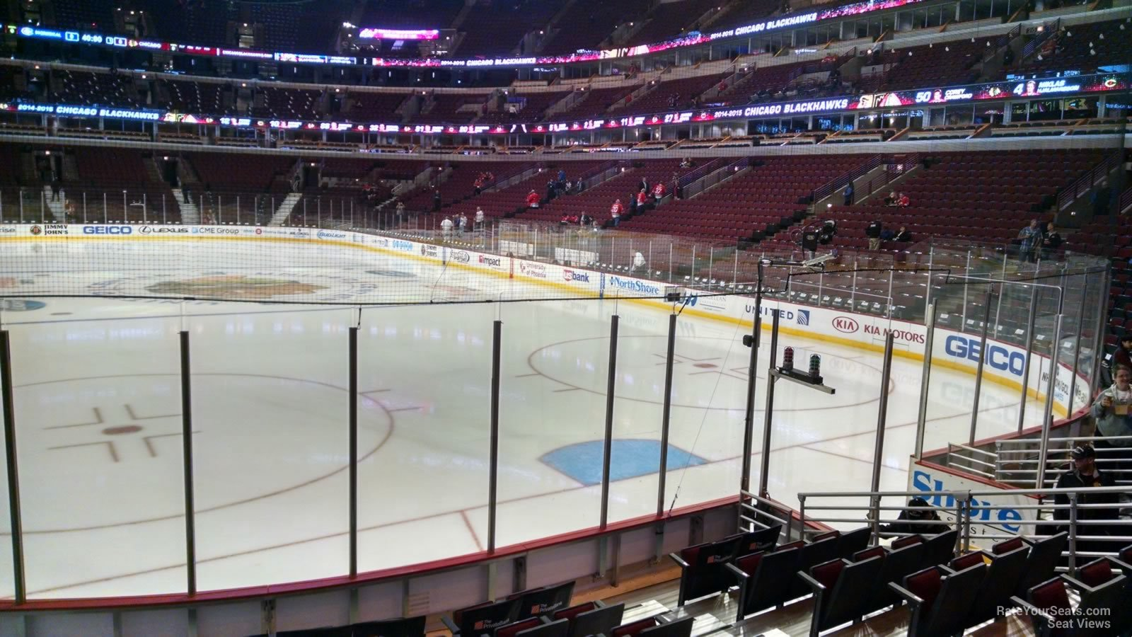 United Center Section 118 - Chicago Blackhawks ...