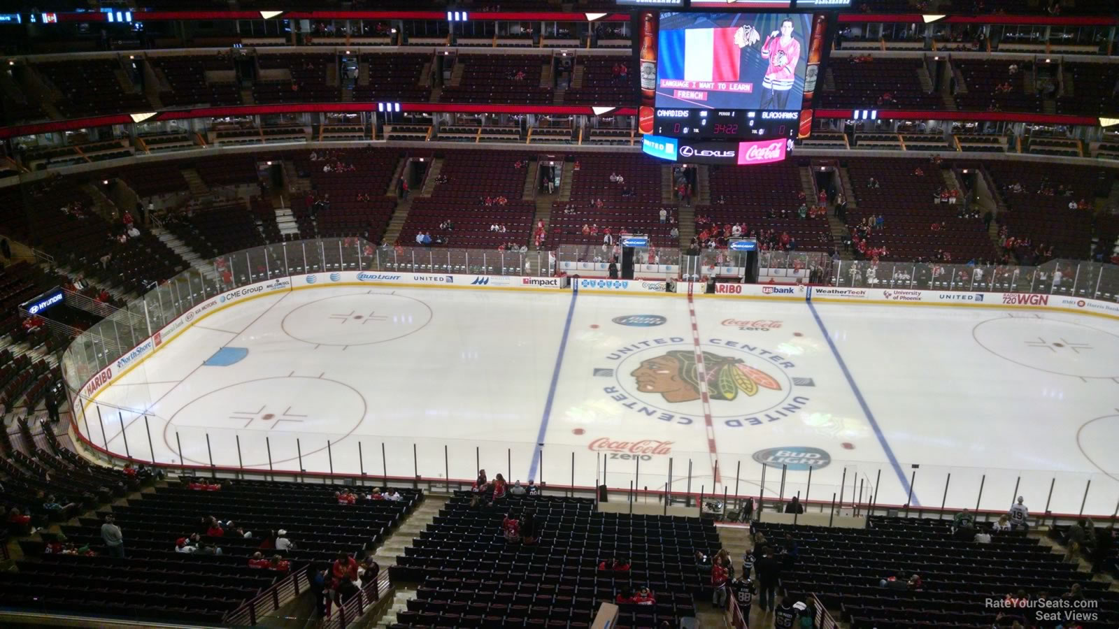 United Center Section 318 Chicago Blackhawks