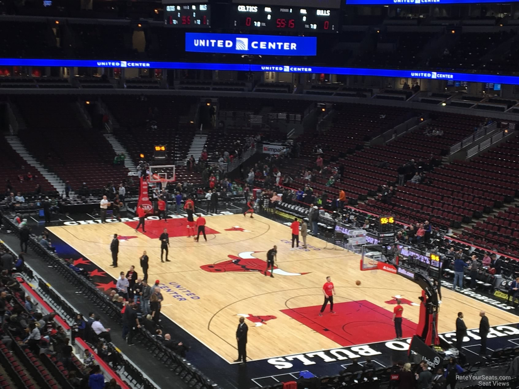 Exterior: United Center Section 212