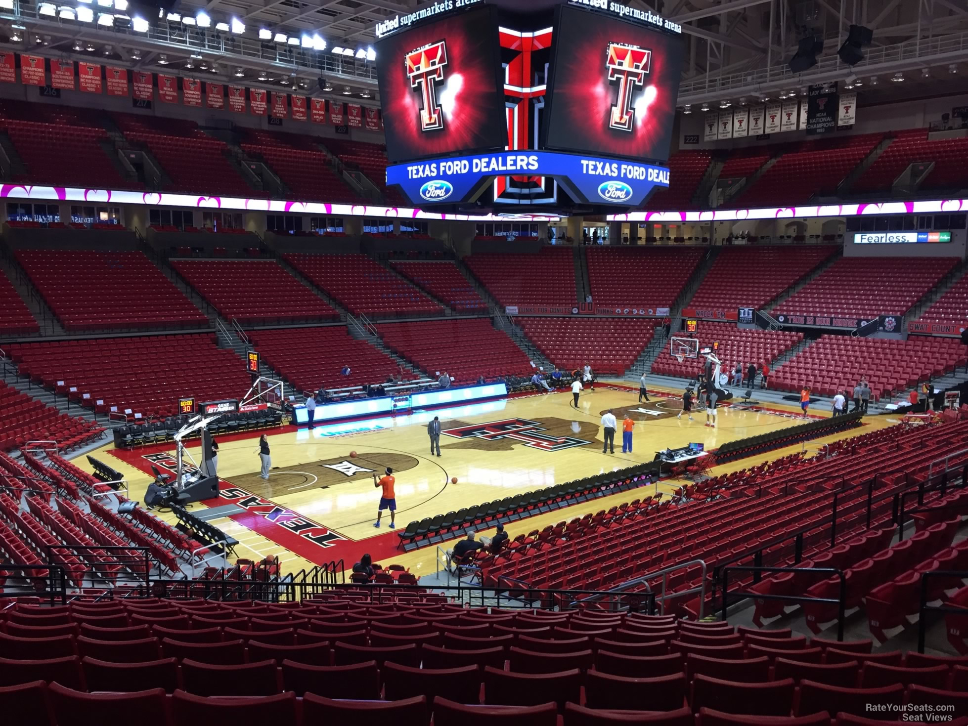 United Supermarkets Arena Section 104 Rateyourseats Com