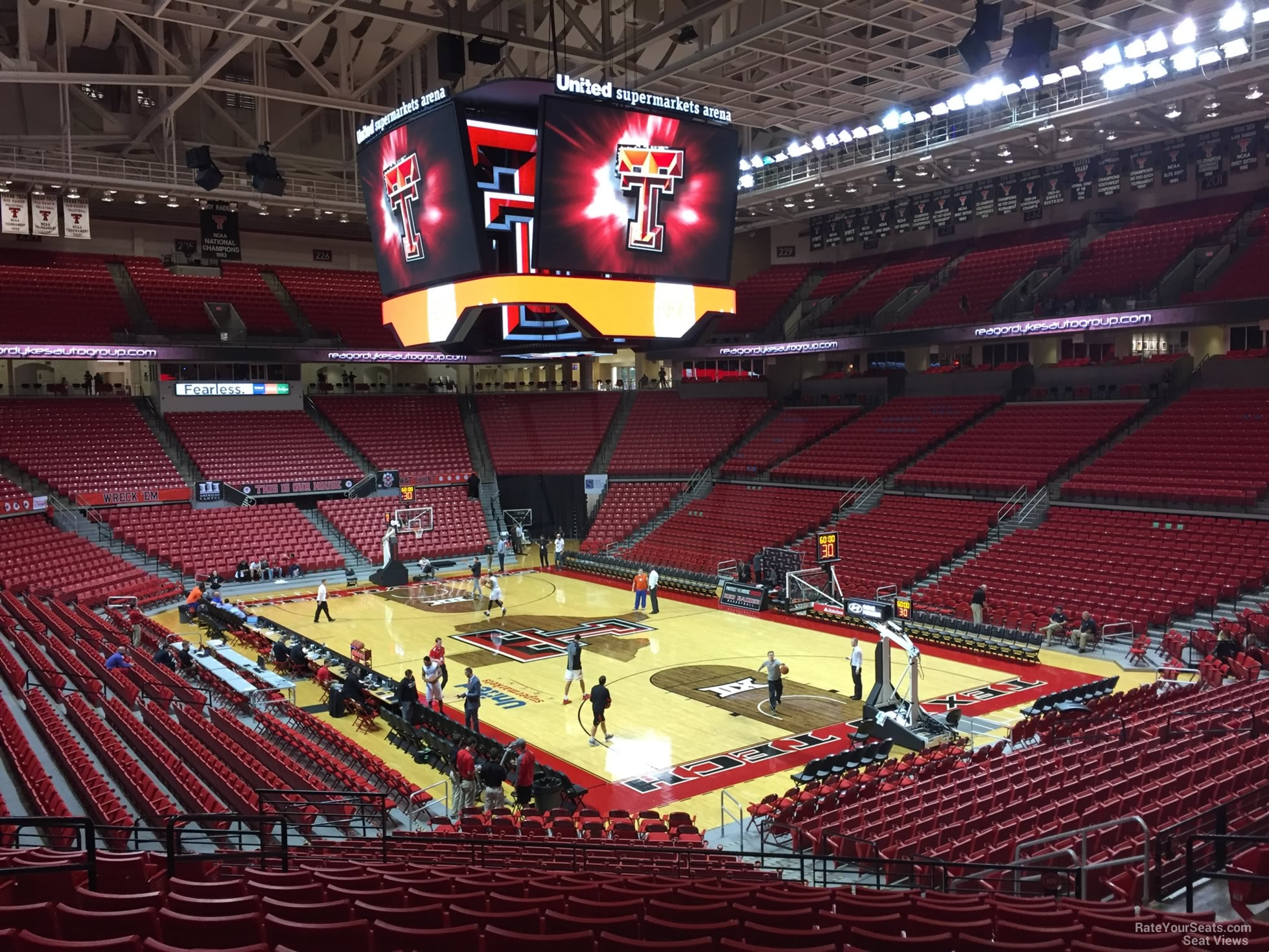 United Supermarkets Arena Section 109 Rateyourseats Com