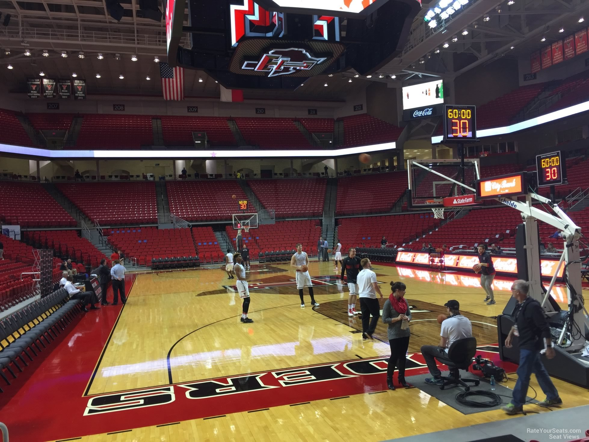 United Supermarkets Arena Section 120 Rateyourseats Com
