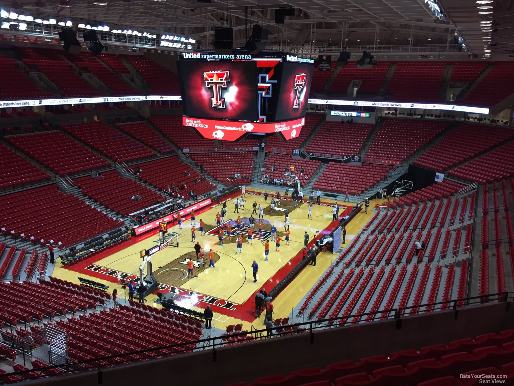 United Supermarkets Arena Section 206 Rateyourseats Com