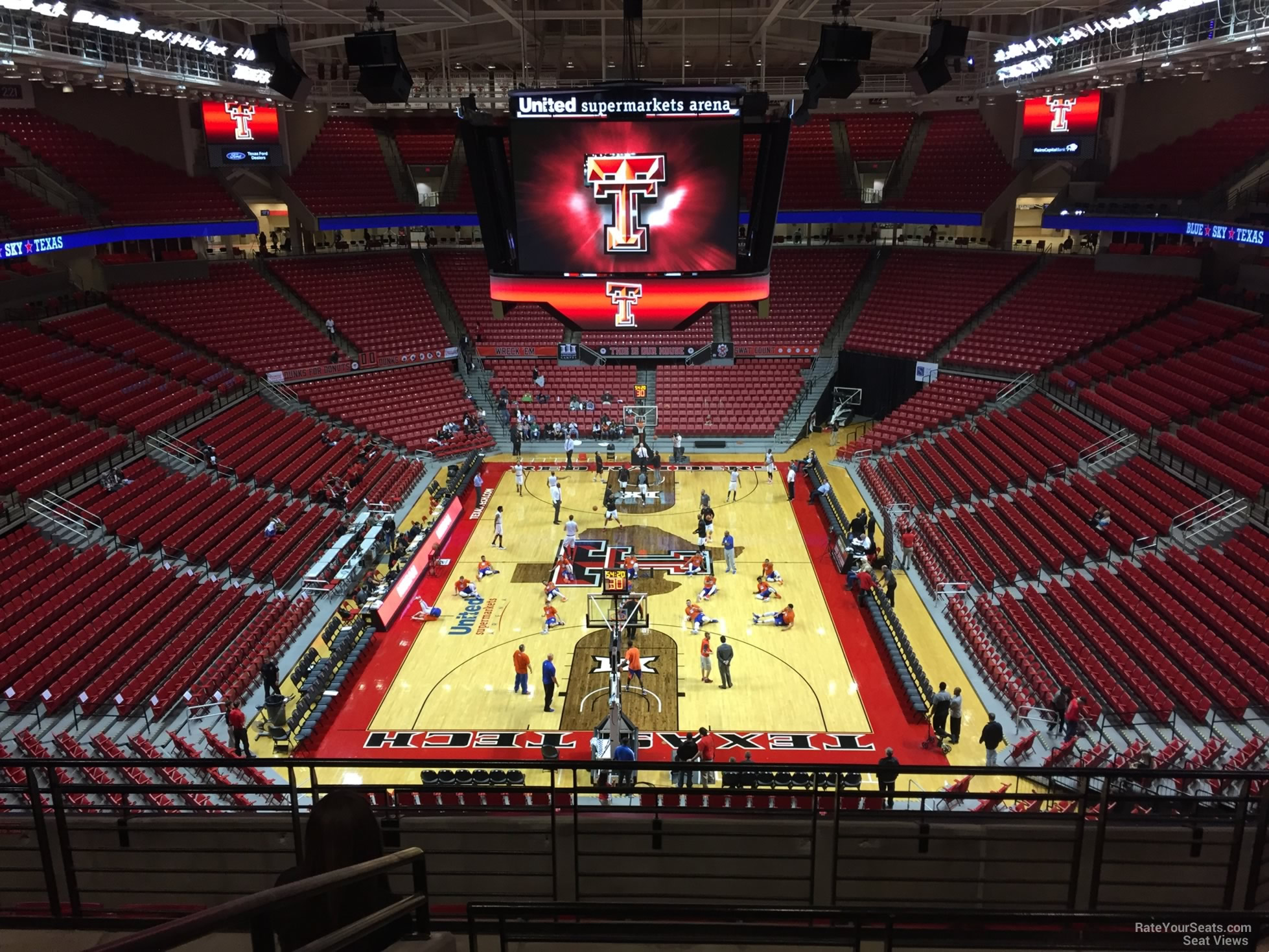 United Supermarkets Arena Section 209 - RateYourSeats.com