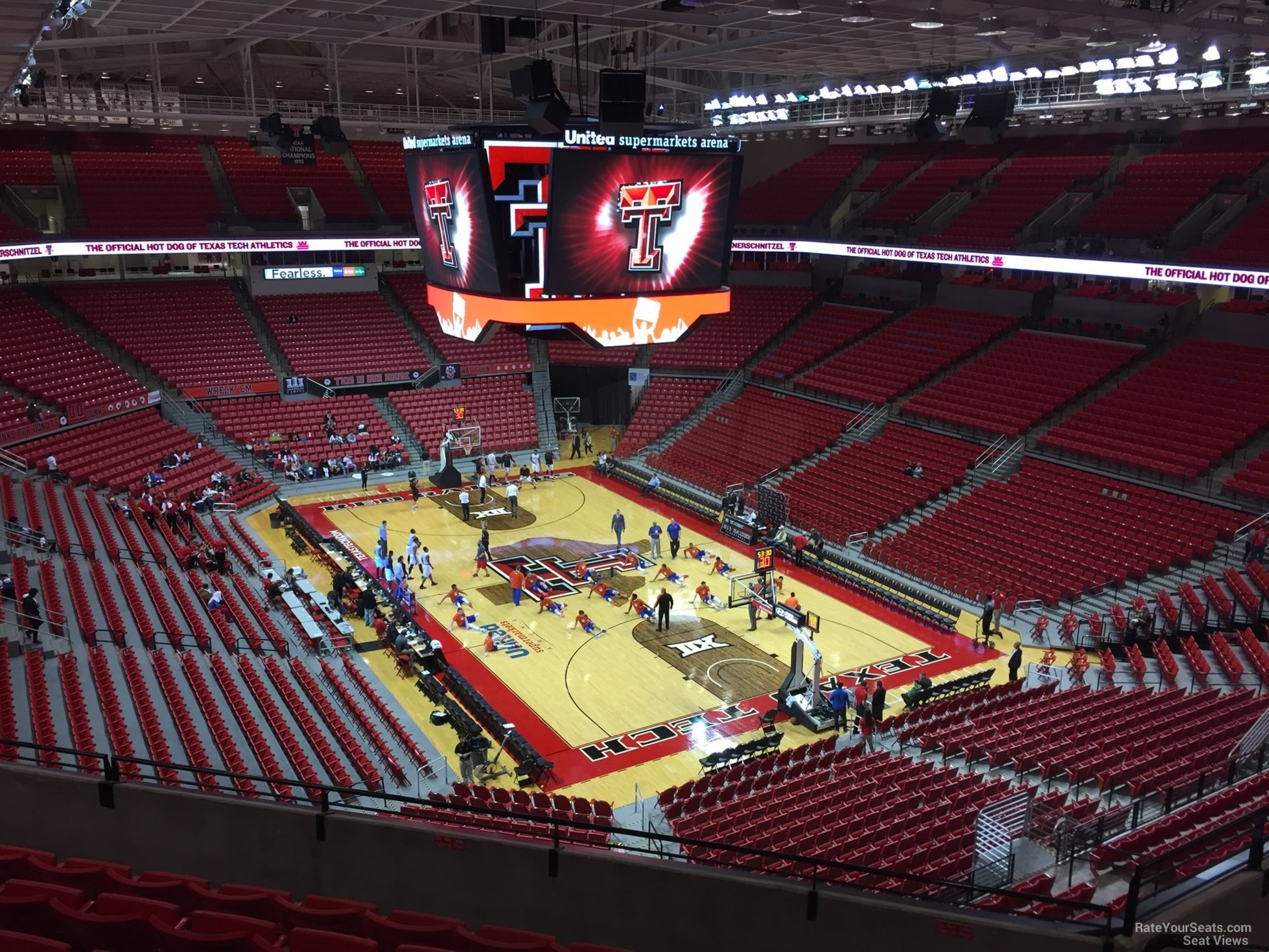 United Supermarkets Arena Section 212 Rateyourseats Com