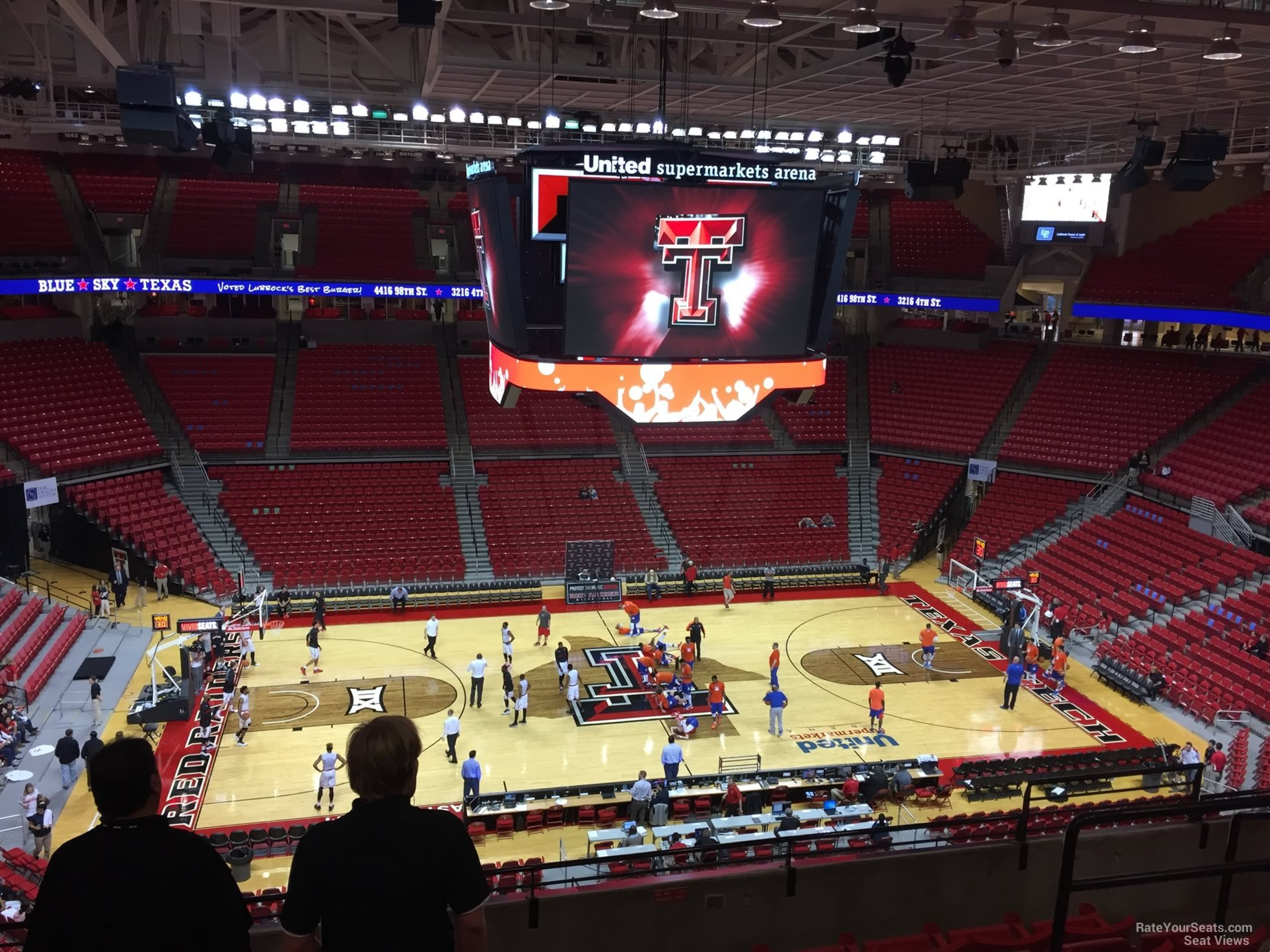 United Supermarkets Arena Section 218 - RateYourSeats.com