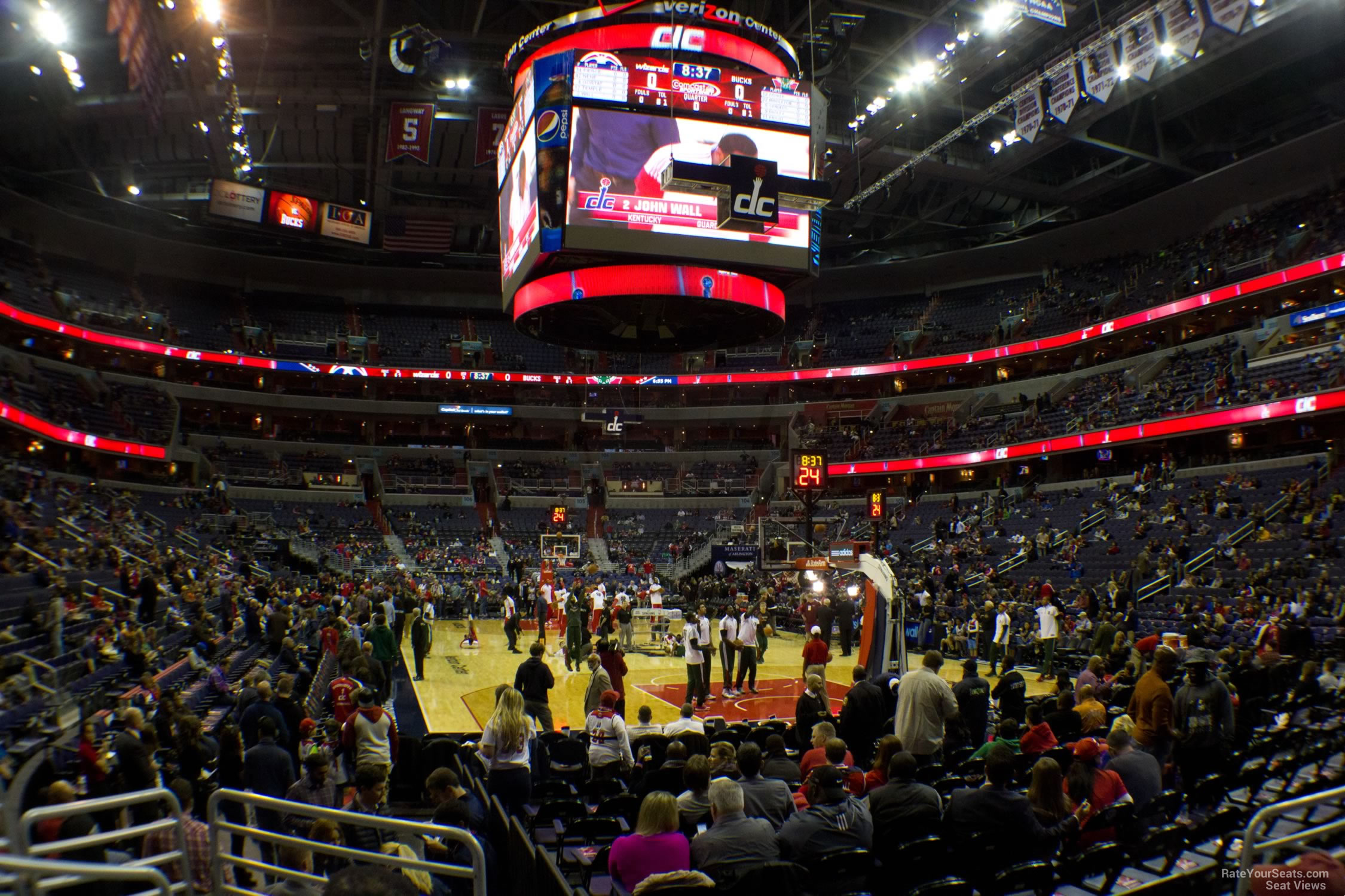 Capital One Arena Section 115 Washington Wizards