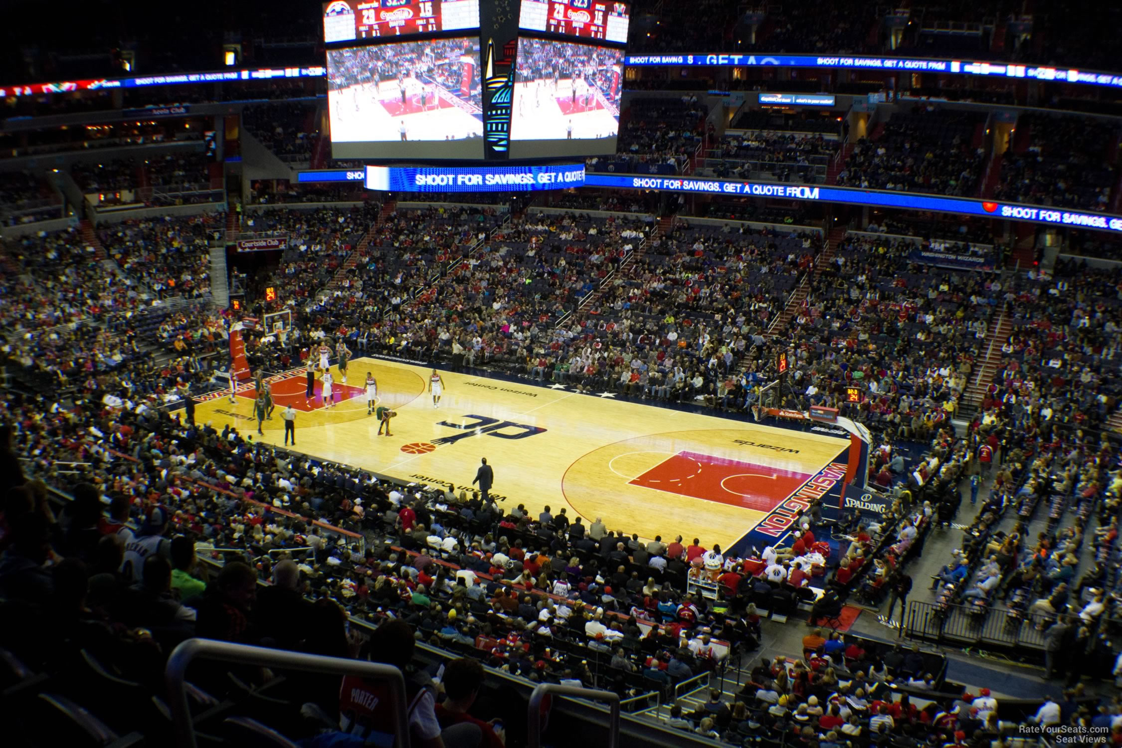 Capital One Arena Section 203 - Washington Wizards ...