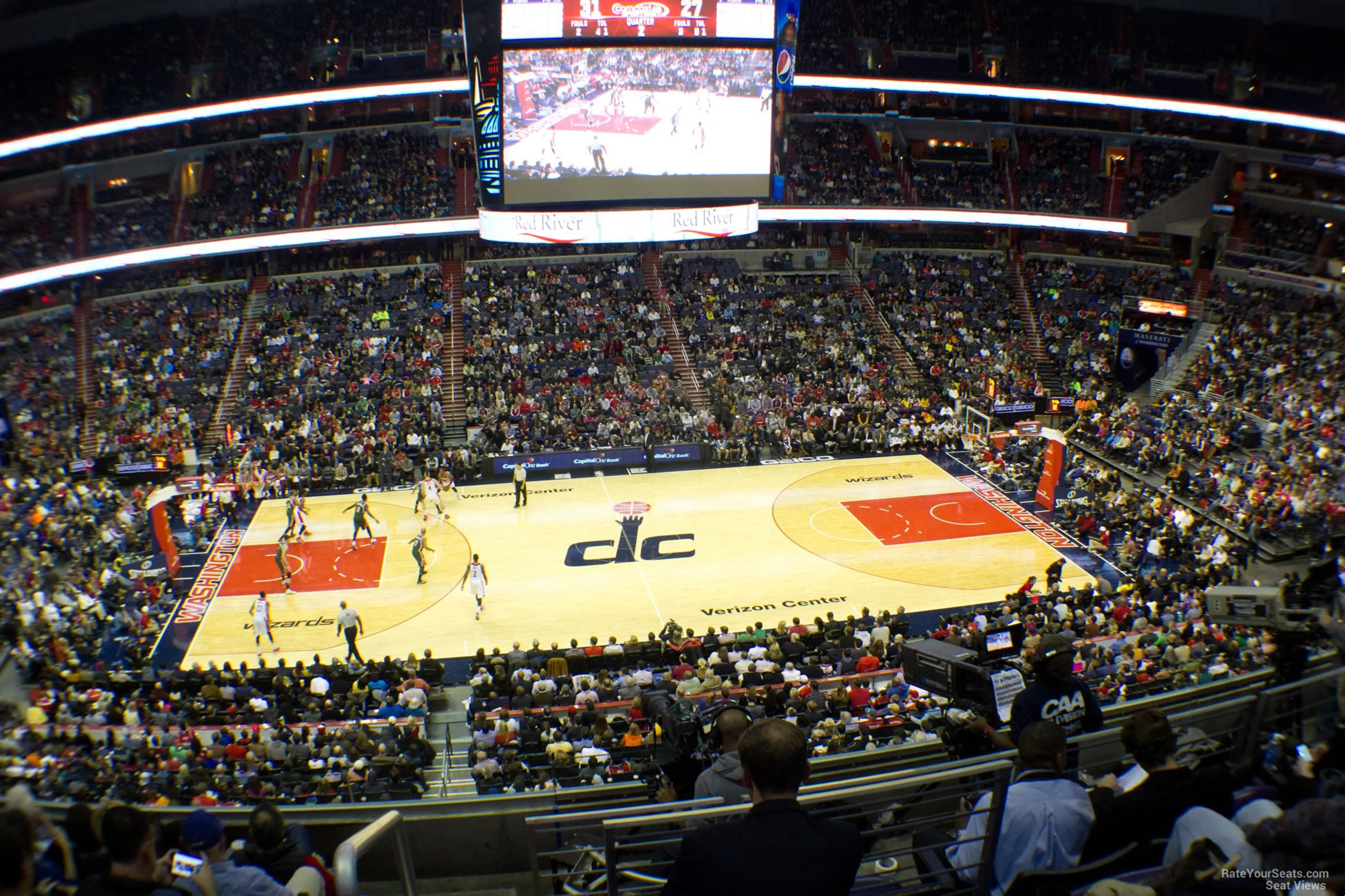 Capital One Arena Section 215 - Washington Wizards ...