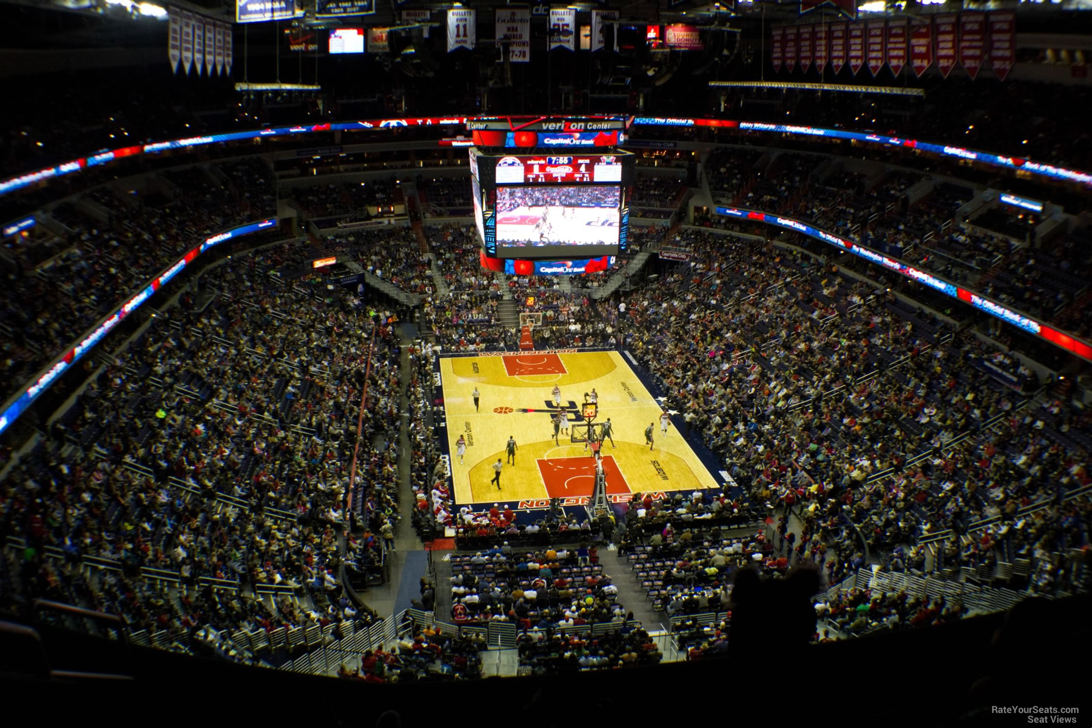 Capital One Arena Dc >> Capital One Arena Section 408 - Washington Wizards - RateYourSeats.com