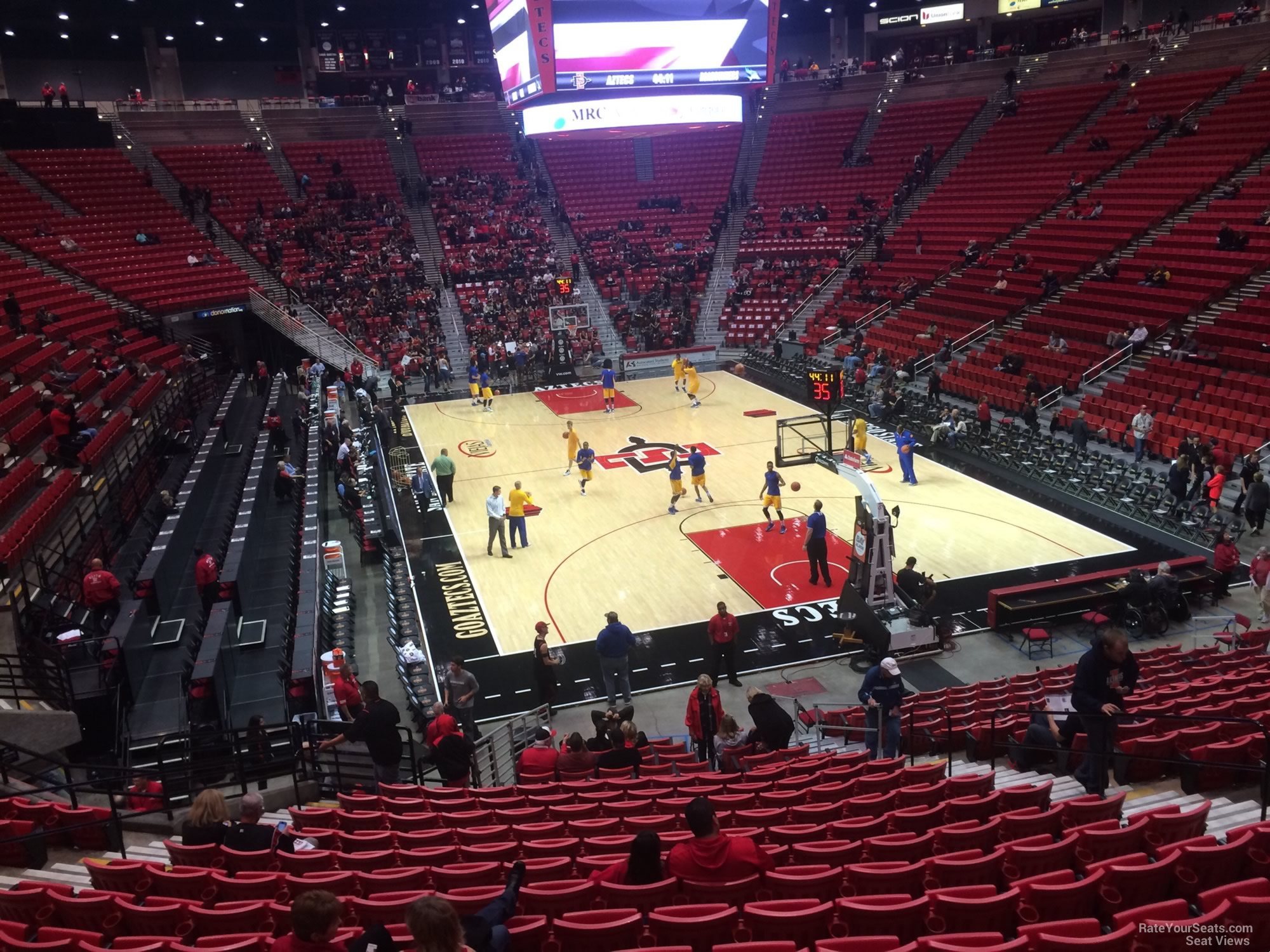 Viejas Arena Section V Rateyourseats Com