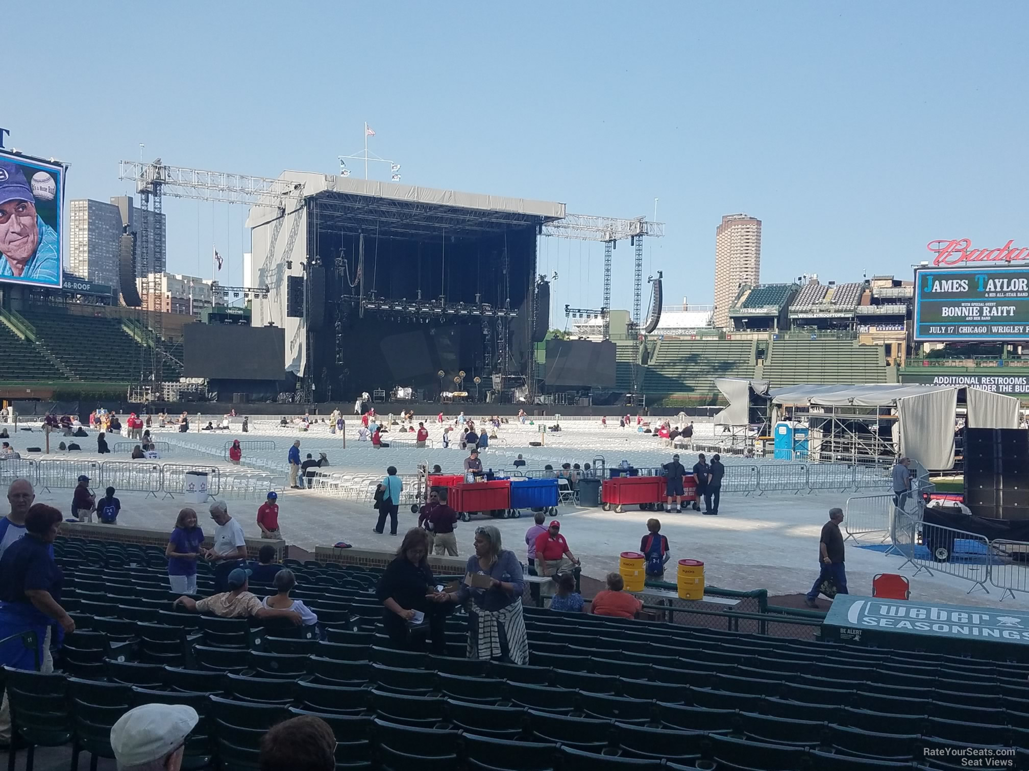 Wrigley Field Section 112 Concert Seating - RateYourSeats.com