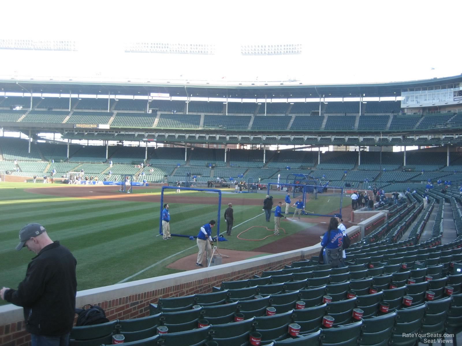 Wrigley Field Section 104 - Chicago Cubs - RateYourSeats.com
