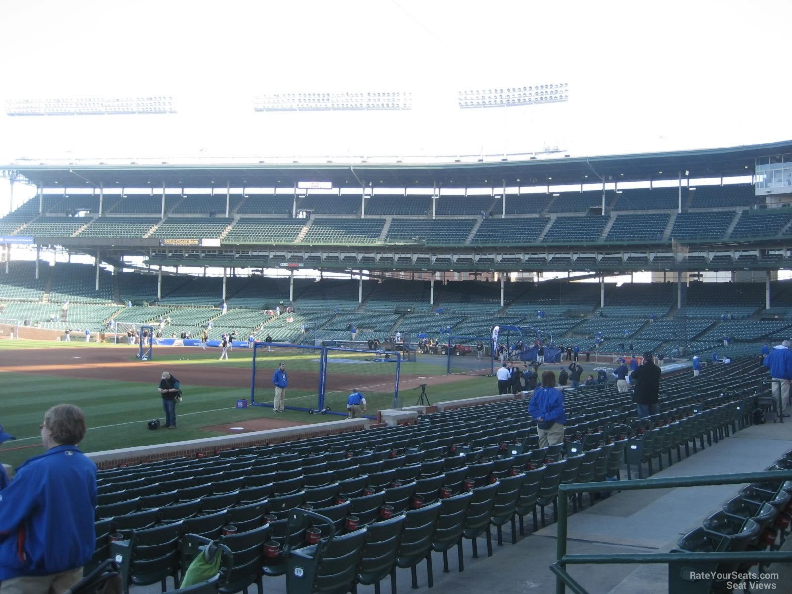 Wrigley Field Section 106 - Chicago Cubs - RateYourSeats.com