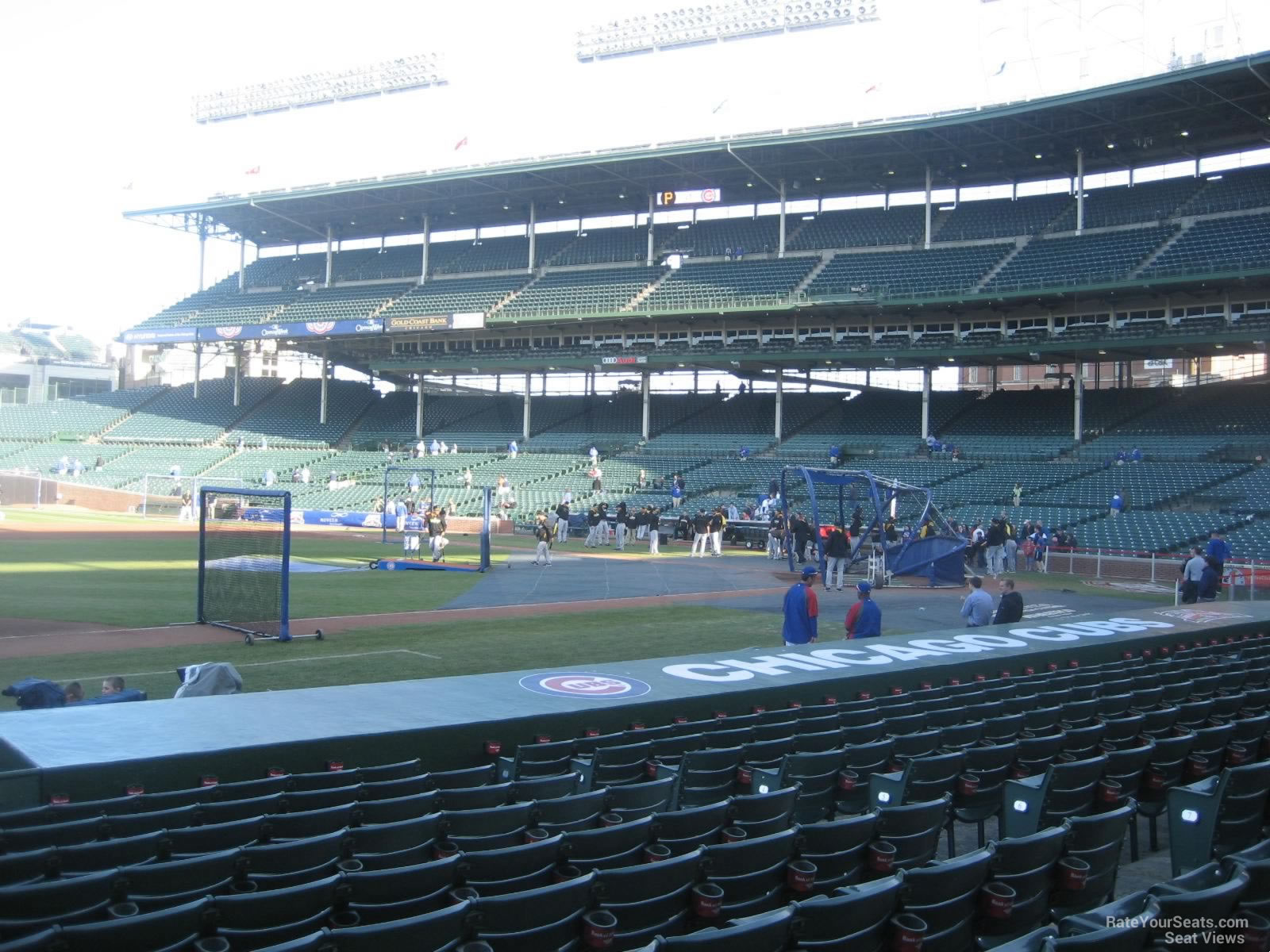 Wrigley Field Section 11 - Chicago Cubs - RateYourSeats.com