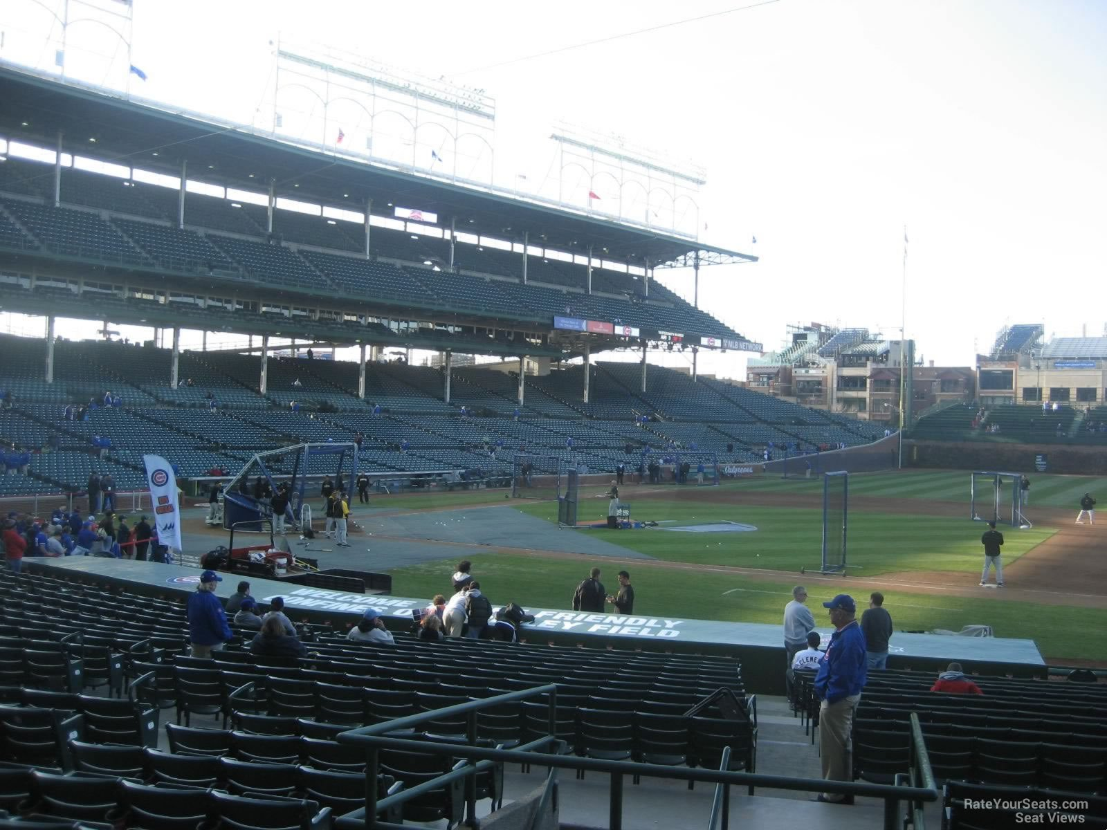 Wrigley Field Section 131 - Chicago Cubs - RateYourSeats.com