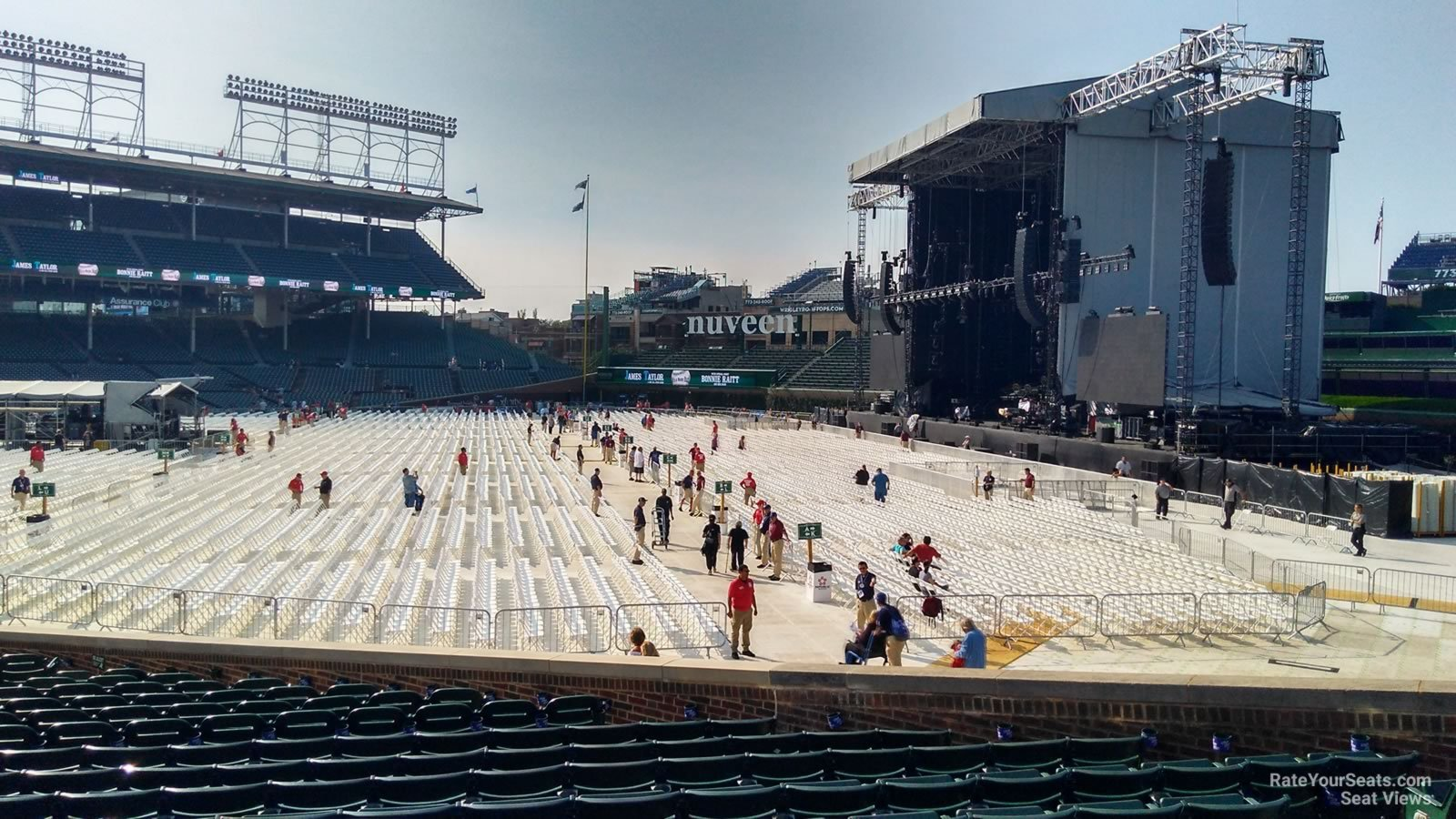 Wrigley Field Section 140 Concert Seating - RateYourSeats.com