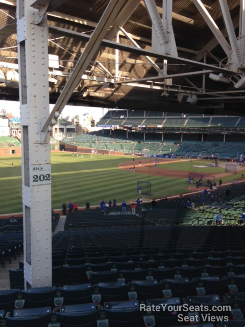 Wrigley Field Section 202 - Chicago Cubs - RateYourSeats.com