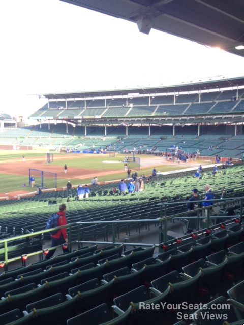 Wrigley Field Section 206 - Chicago Cubs - RateYourSeats.com