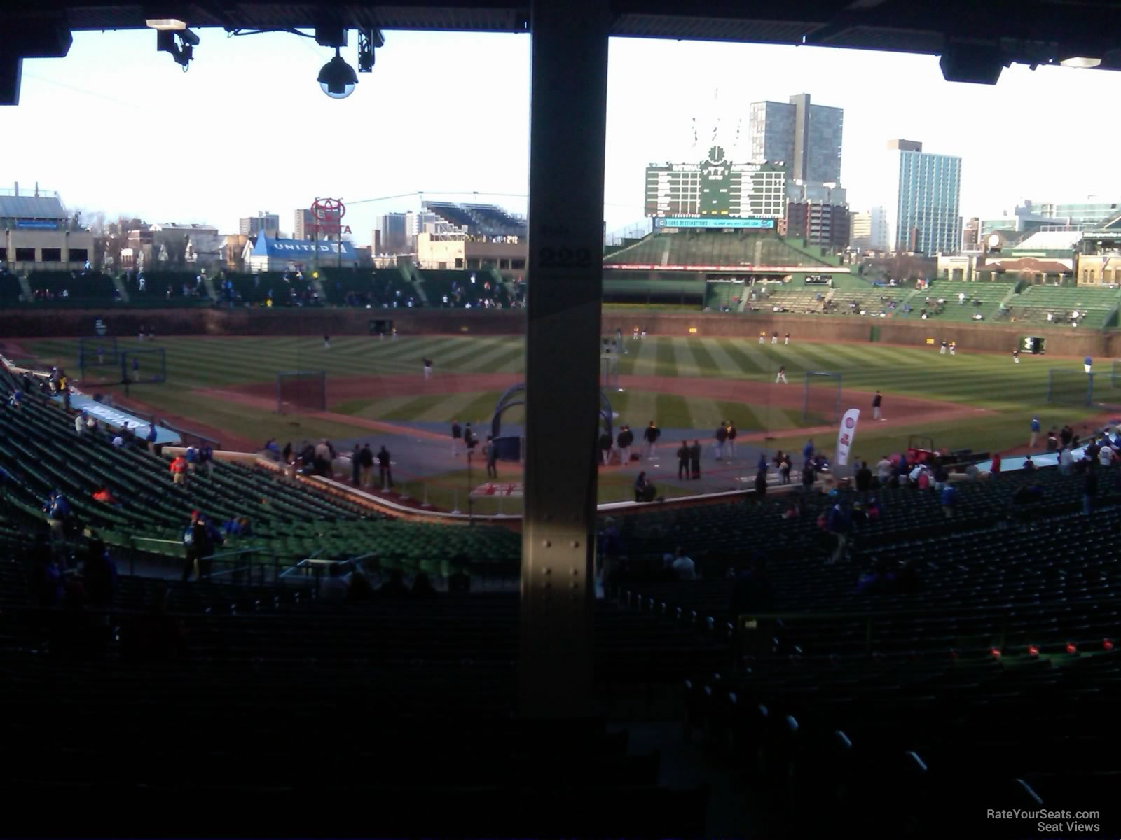 Wrigley Field Section 222 - Chicago Cubs - RateYourSeats.com