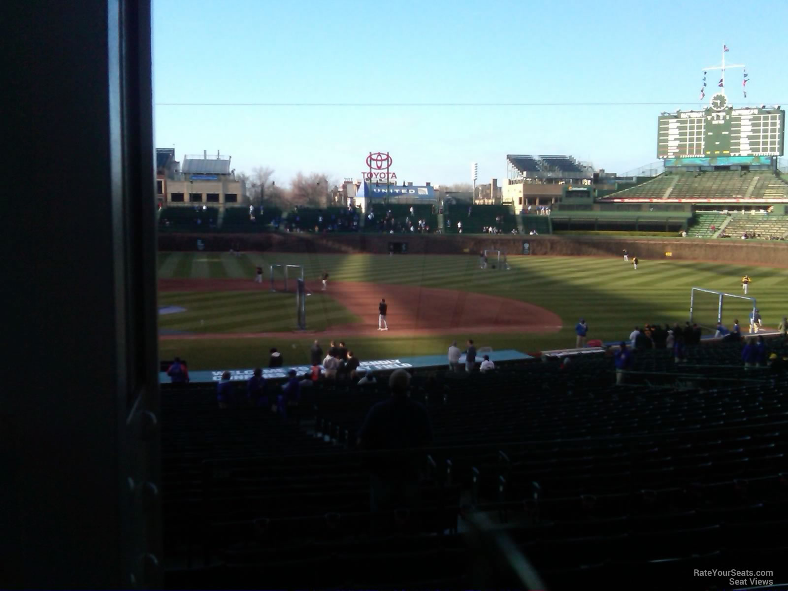 Wrigley Field Section 228 - Chicago Cubs - RateYourSeats.com