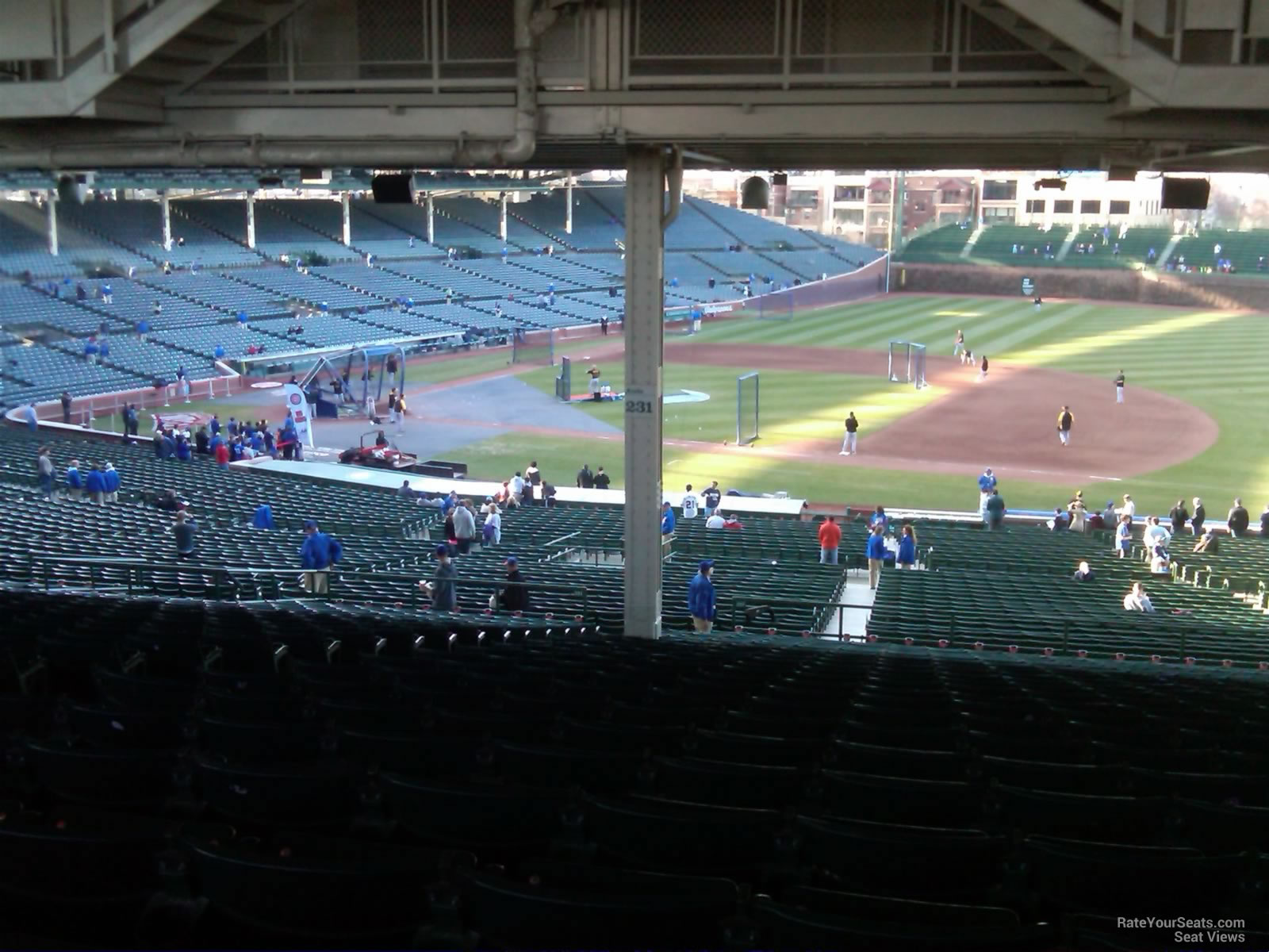 Wrigley Field Section 231 - Chicago Cubs - RateYourSeats.com