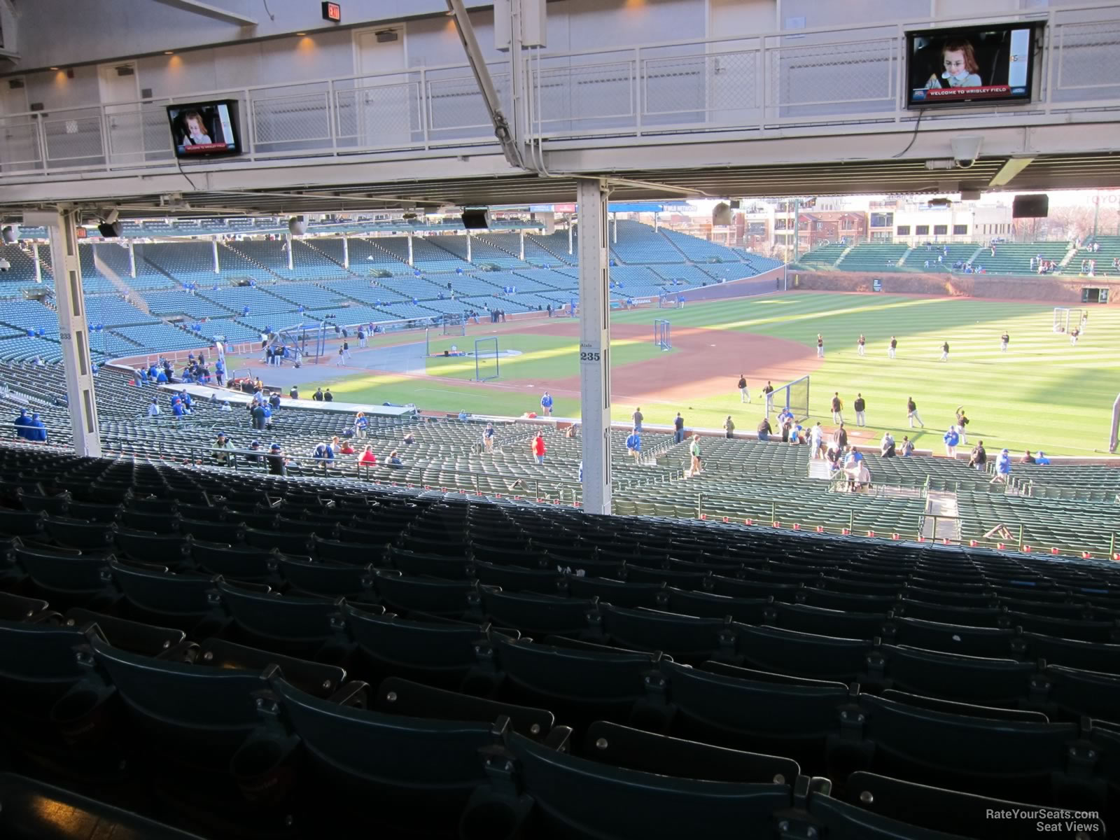Wrigley Field Section 235 - Chicago Cubs - RateYourSeats.com