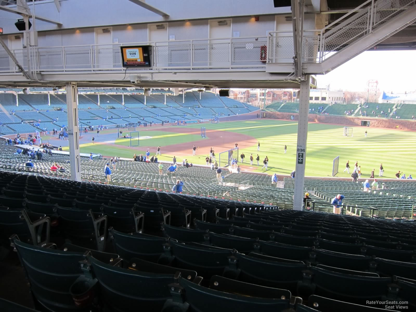 Wrigley Field Section 236 - Chicago Cubs - RateYourSeats.com