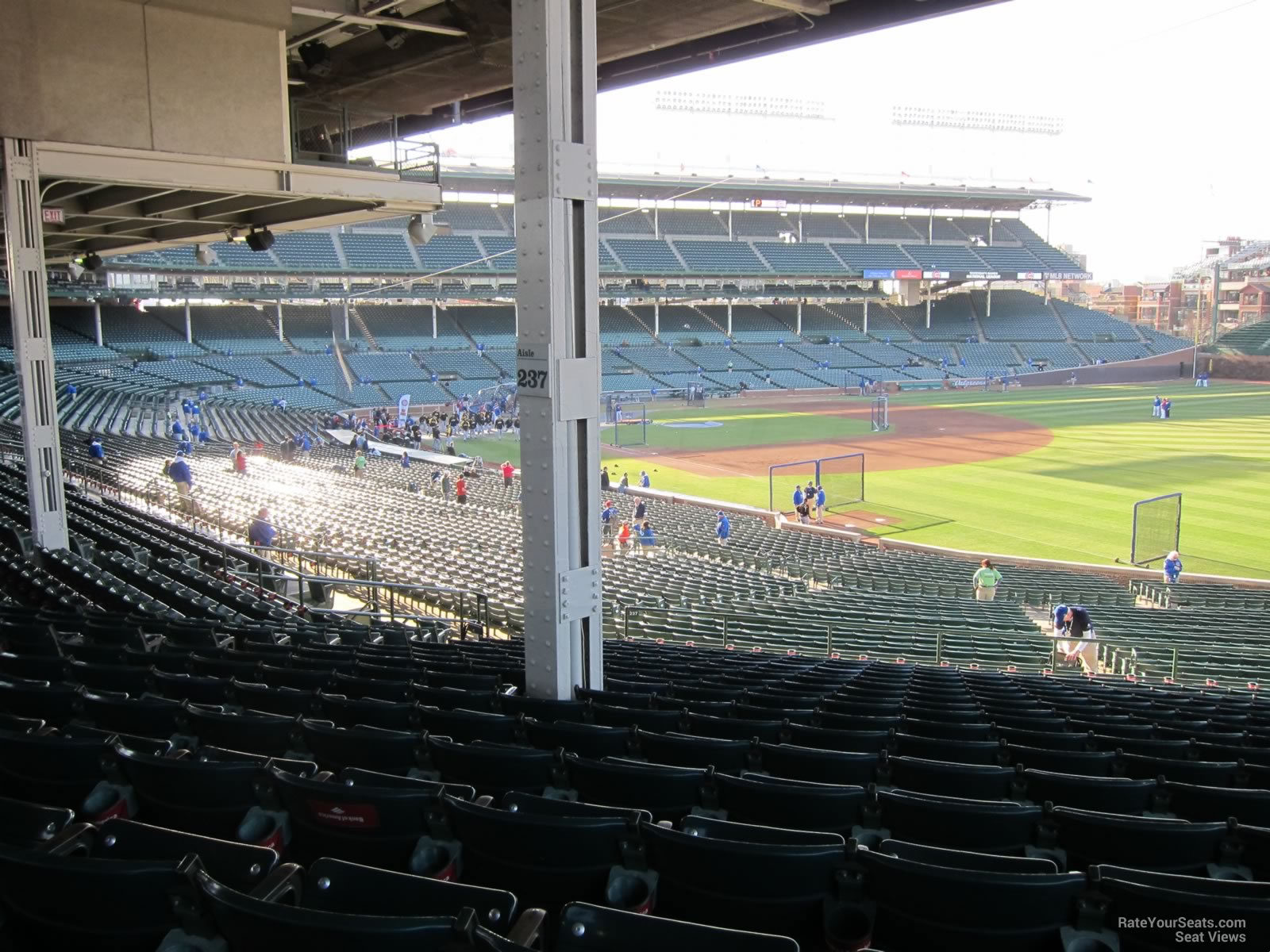 Wrigley Field Section 237 - Chicago Cubs - RateYourSeats.com