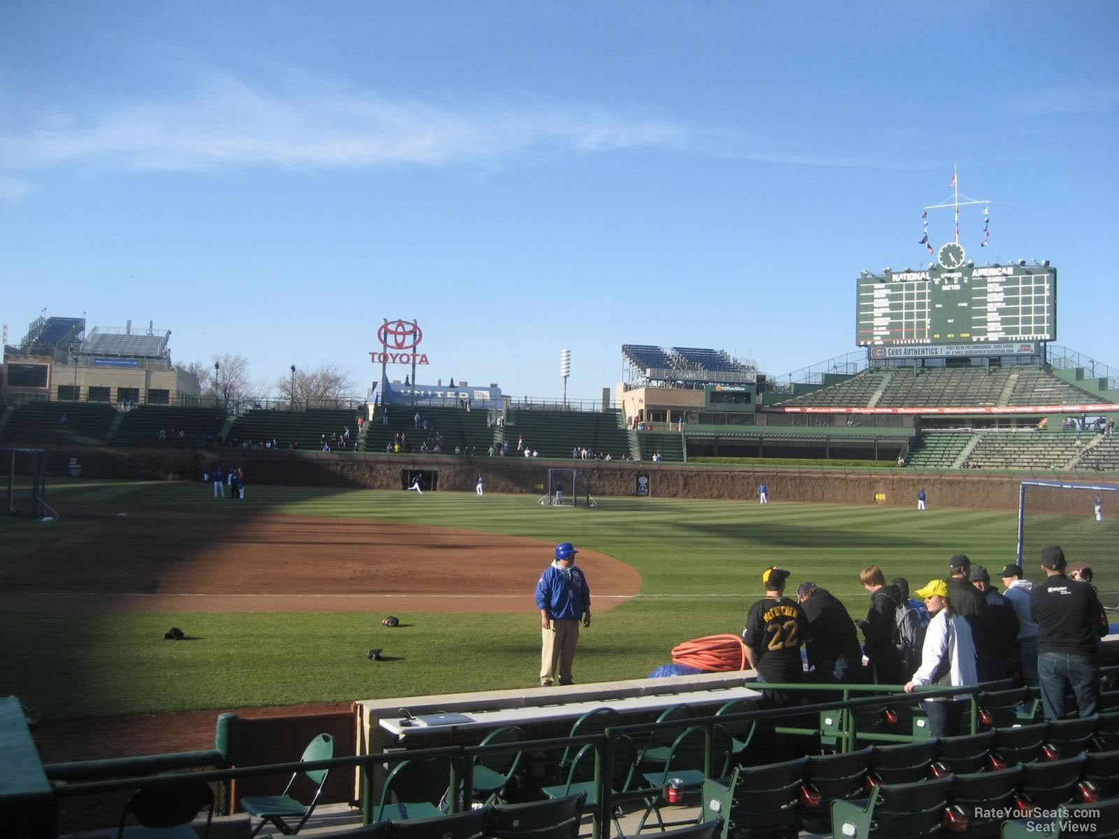 Wrigley Field Section 32 - Chicago Cubs - RateYourSeats.com