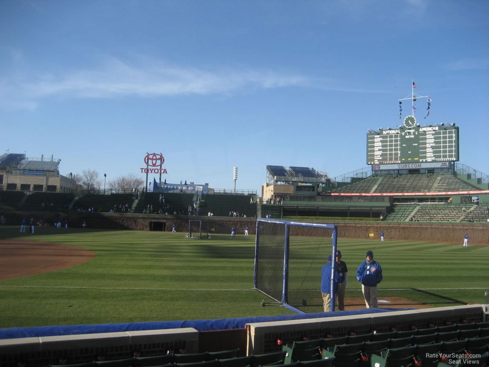 Wrigley Field Section 34 - Chicago Cubs - RateYourSeats.com