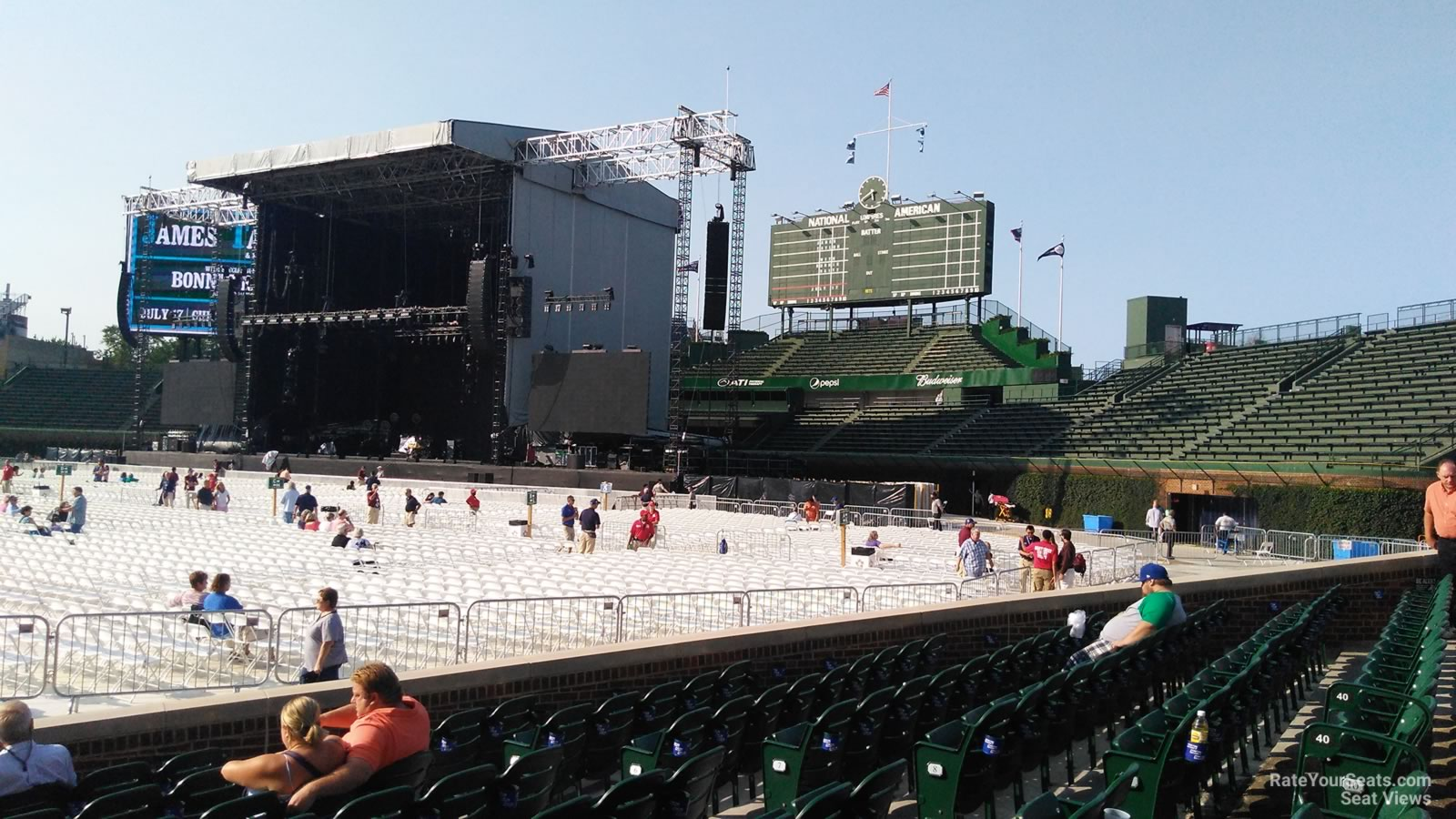 Wrigley Field Section 38 Concert Seating - RateYourSeats.com